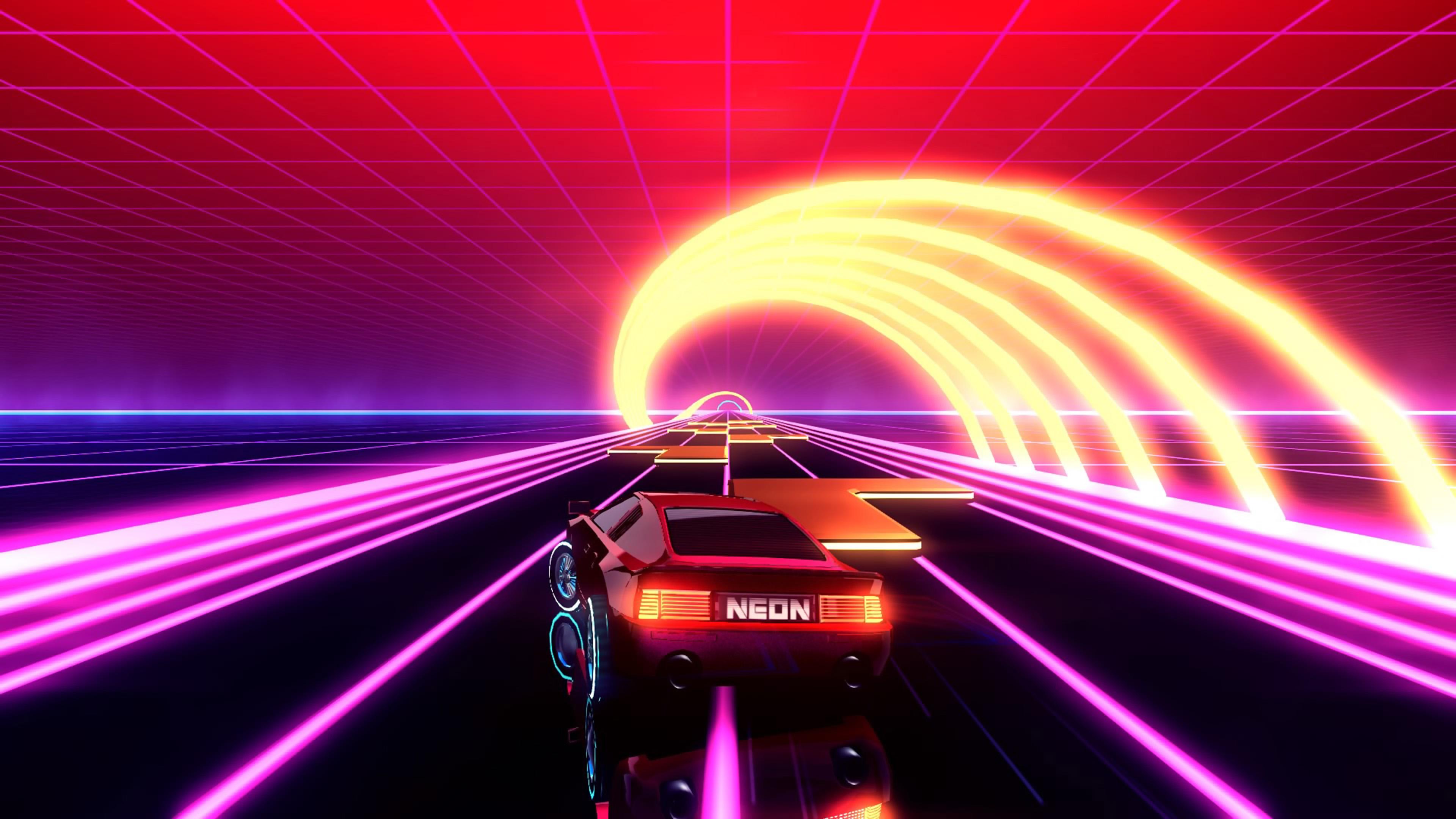 Скриншот №9 к Neon Drive