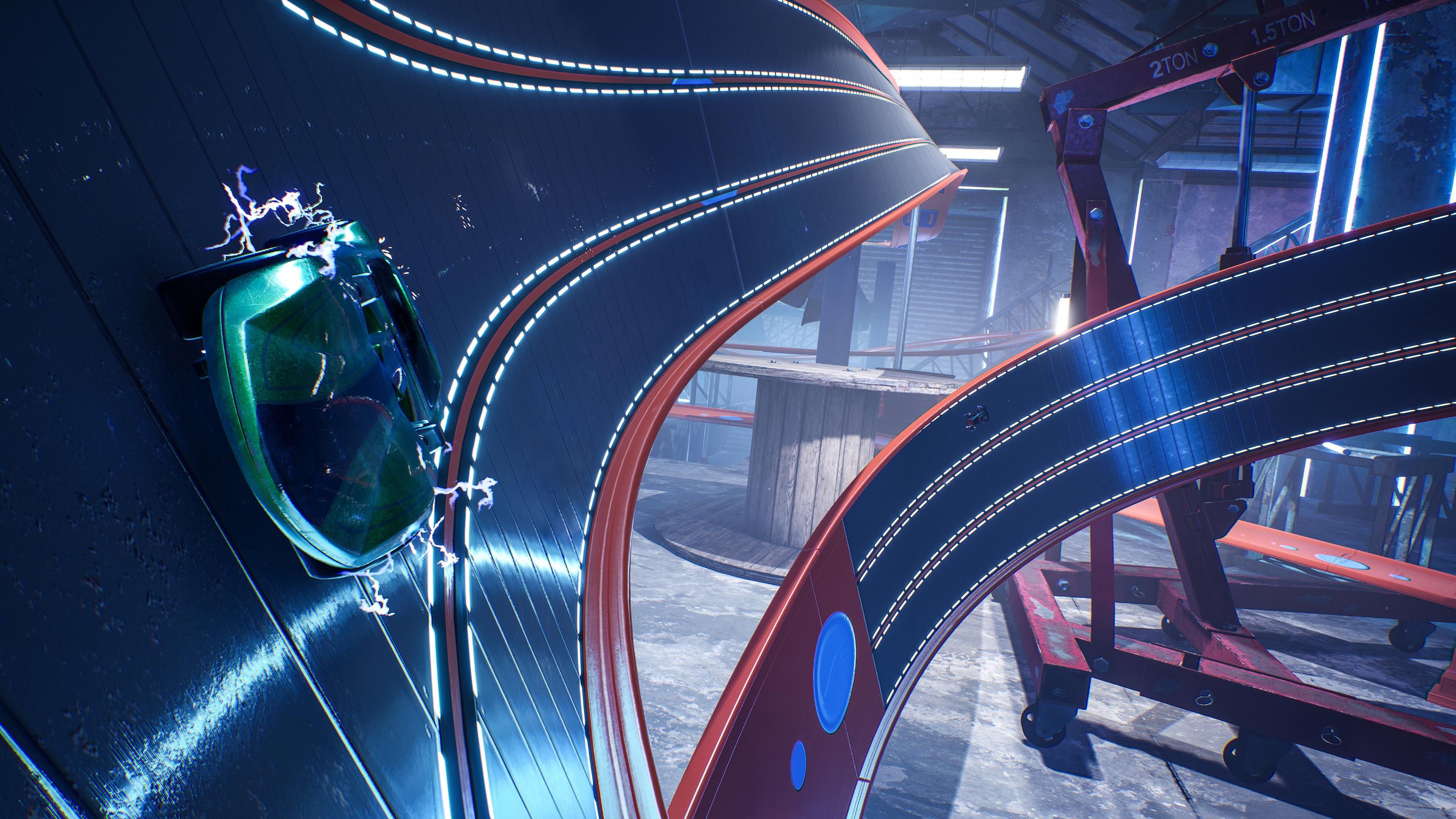 Скриншот №6 к HOT WHEELS UNLEASHED - Ultimate Stunt Edition