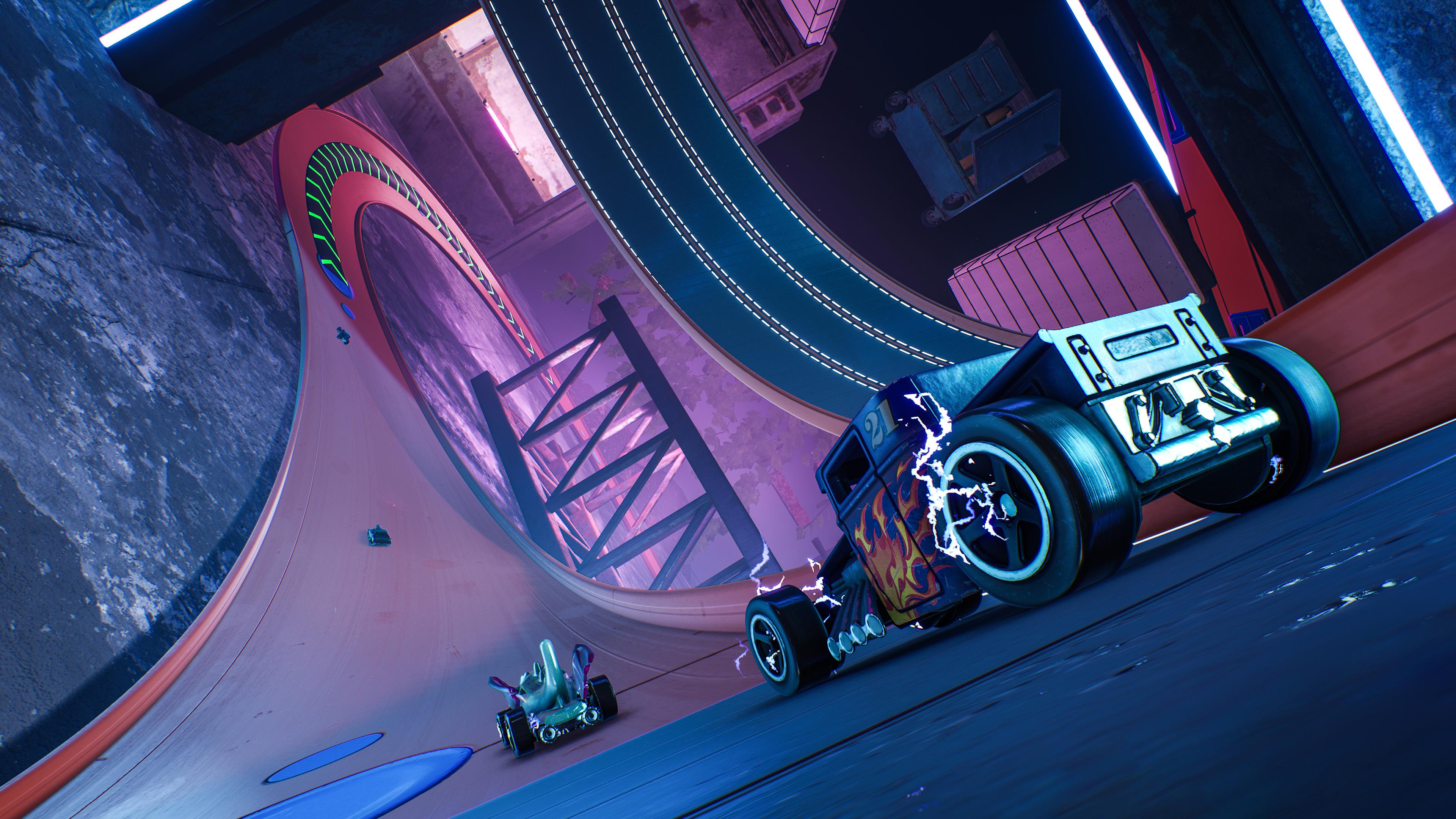 Скриншот №8 к HOT WHEELS UNLEASHED - Ultimate Stunt Edition