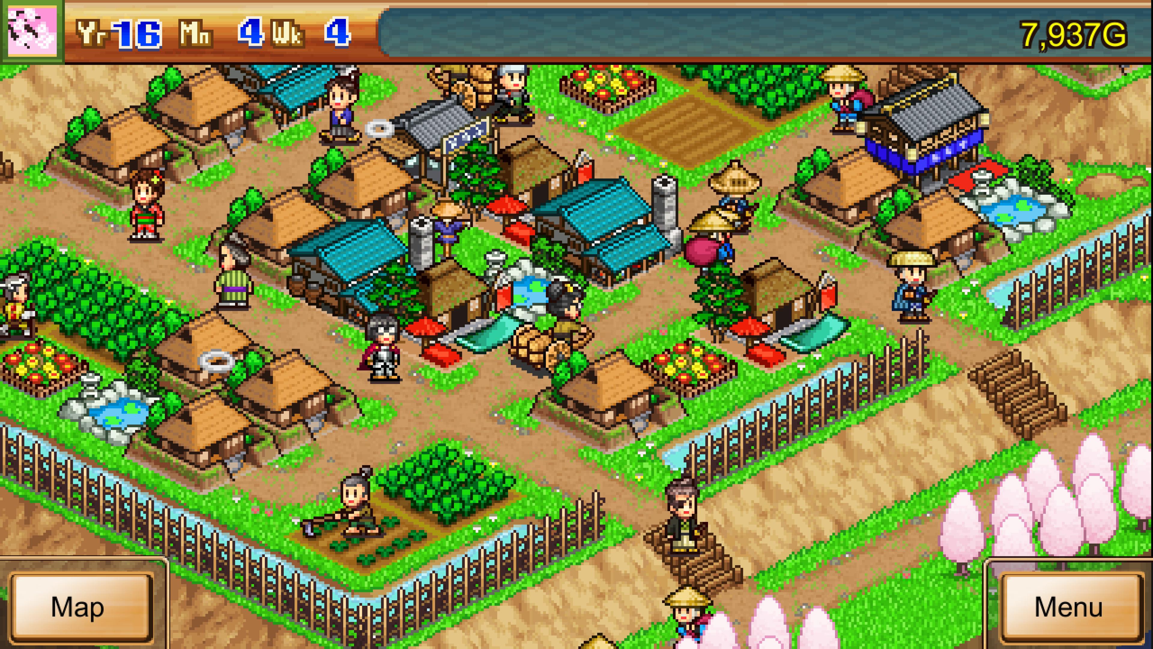 Скриншот №1 к Ninja Village
