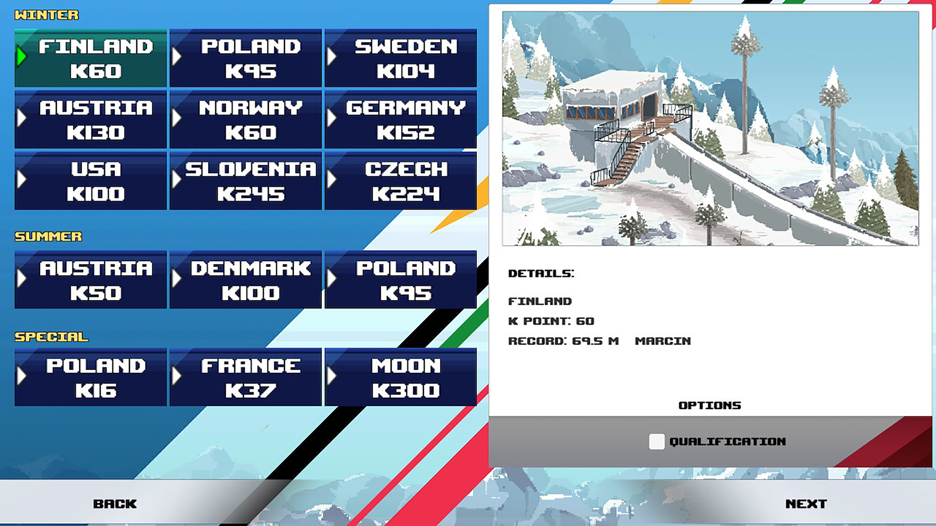 Скриншот №5 к Ultimate Ski Jumping 2020