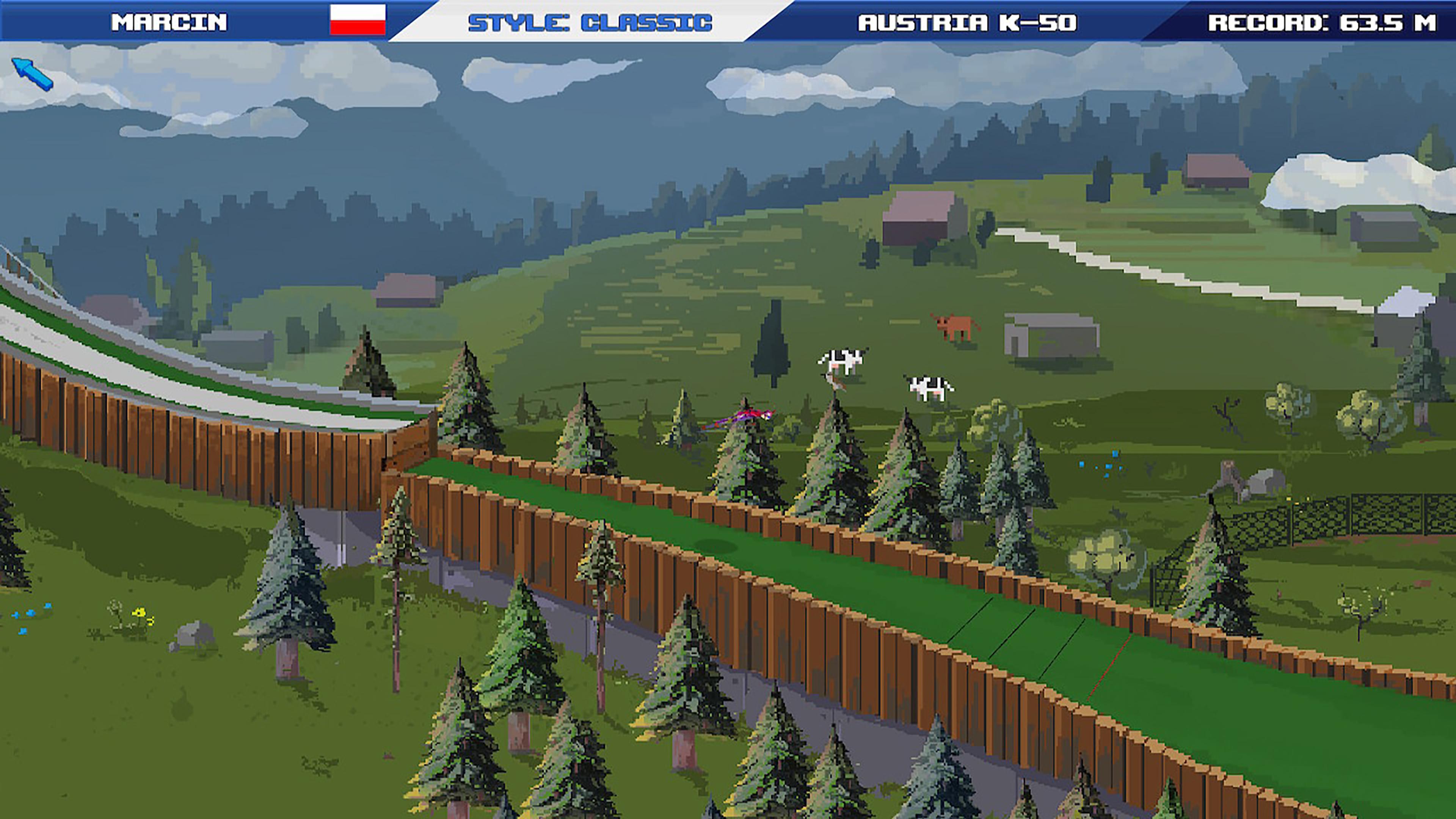 Скриншот №3 к Ultimate Ski Jumping 2020