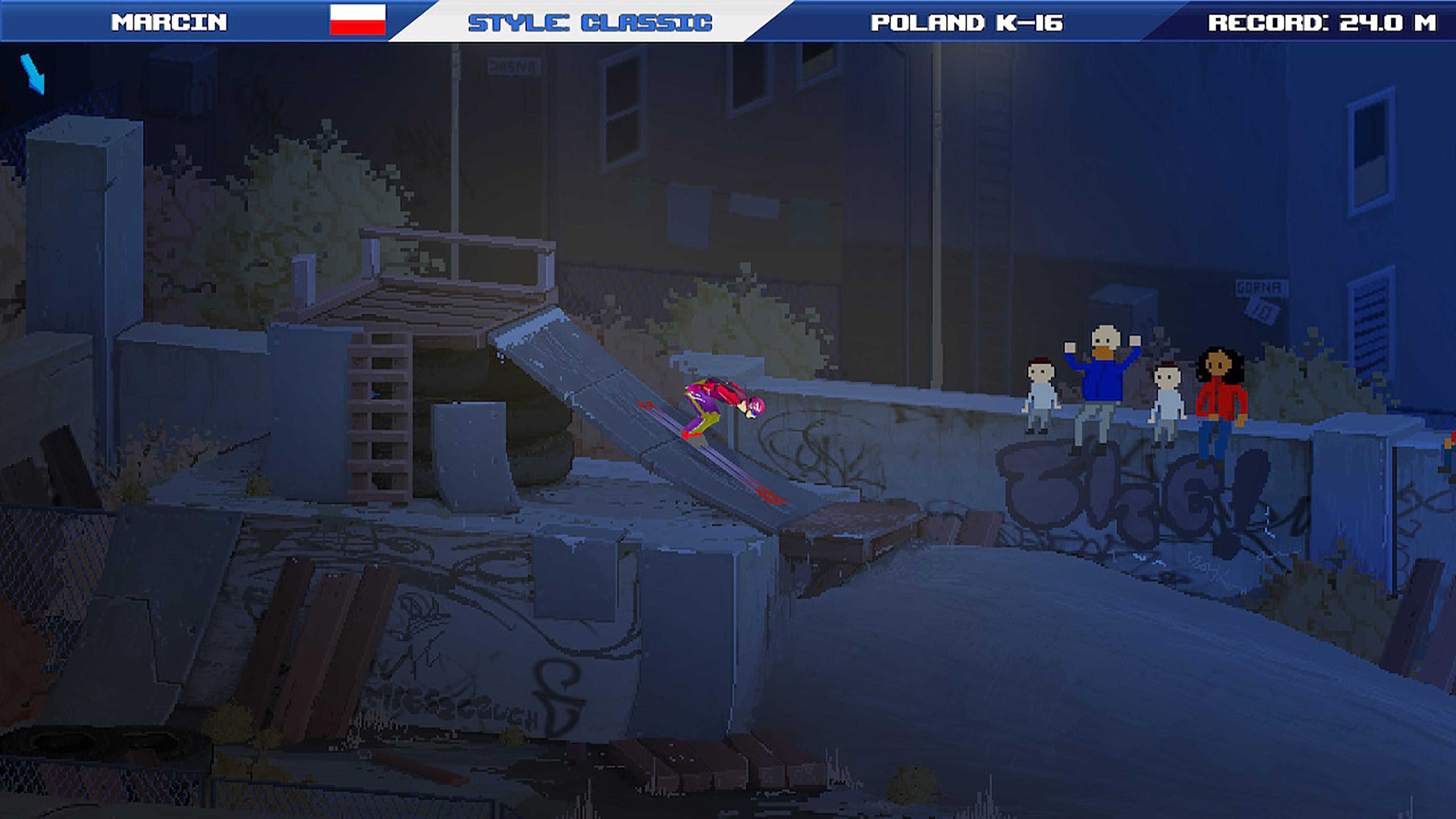 Скриншот №4 к Ultimate Ski Jumping 2020
