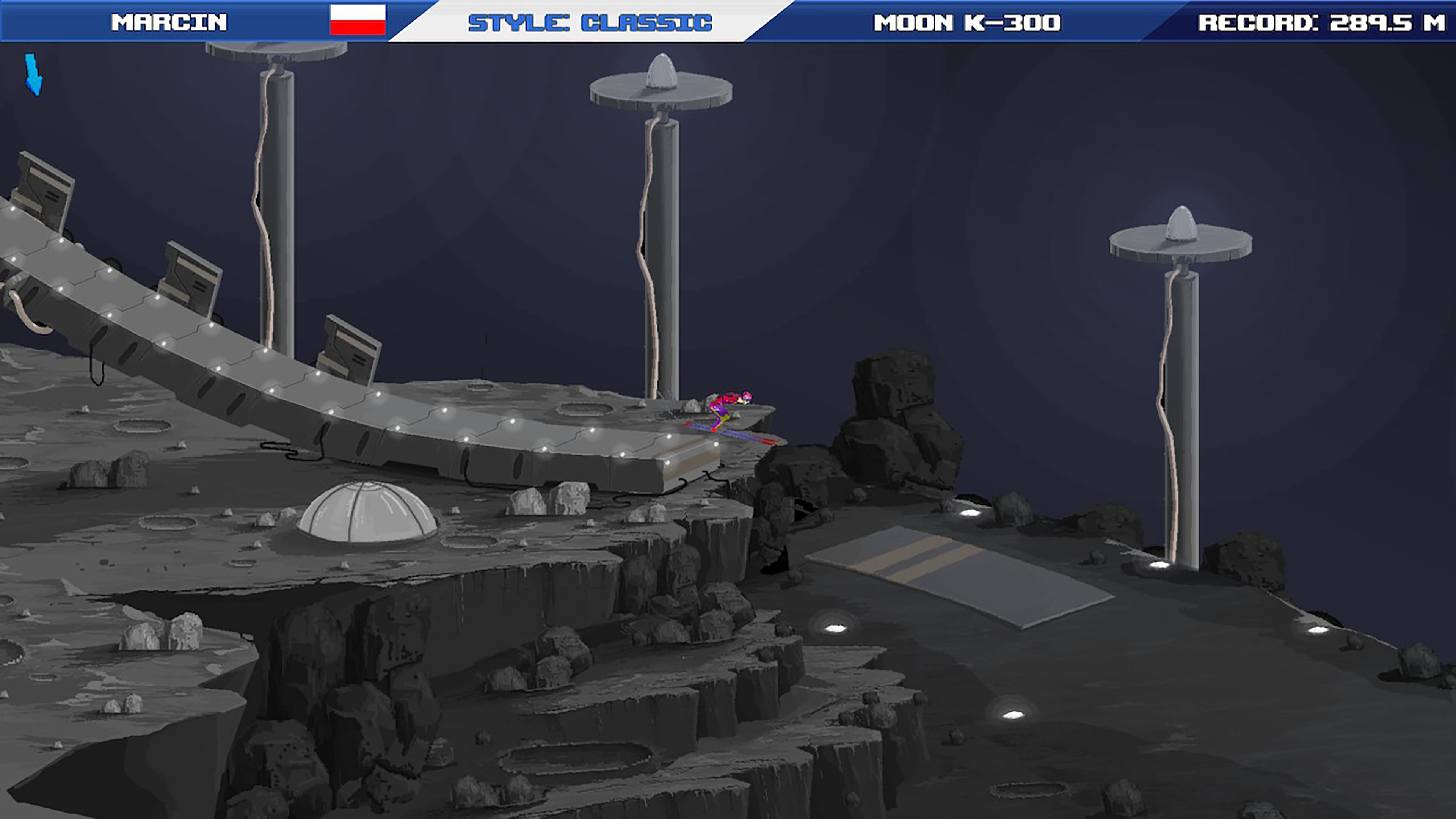 Скриншот №6 к Ultimate Ski Jumping 2020