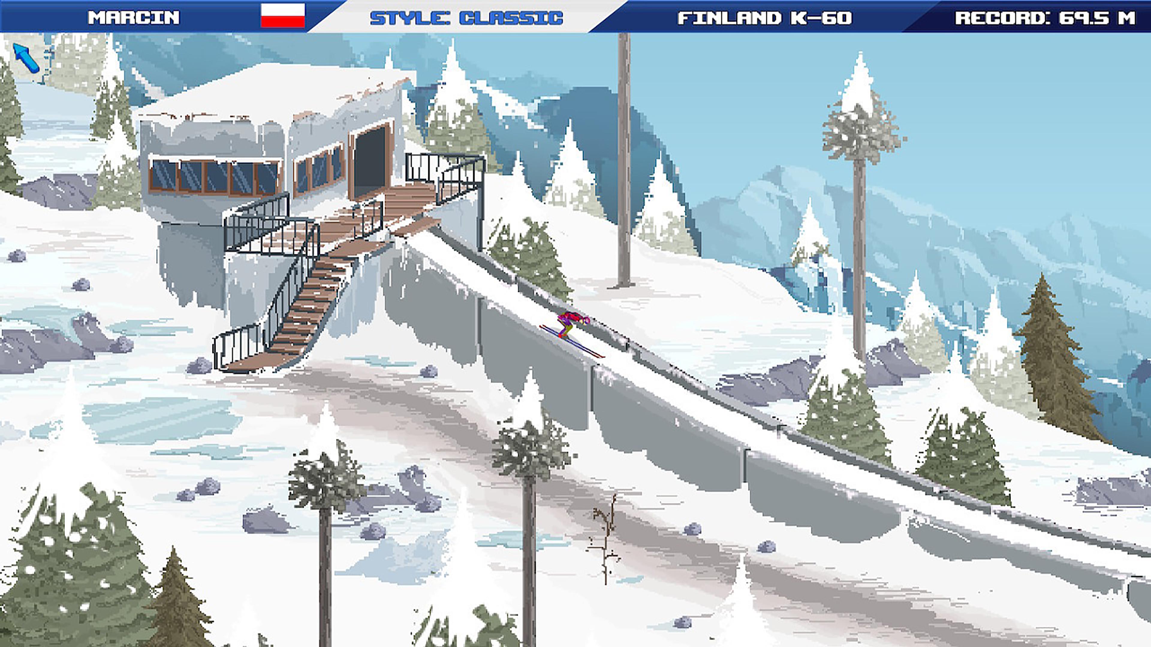 Скриншот №1 к Ultimate Ski Jumping 2020