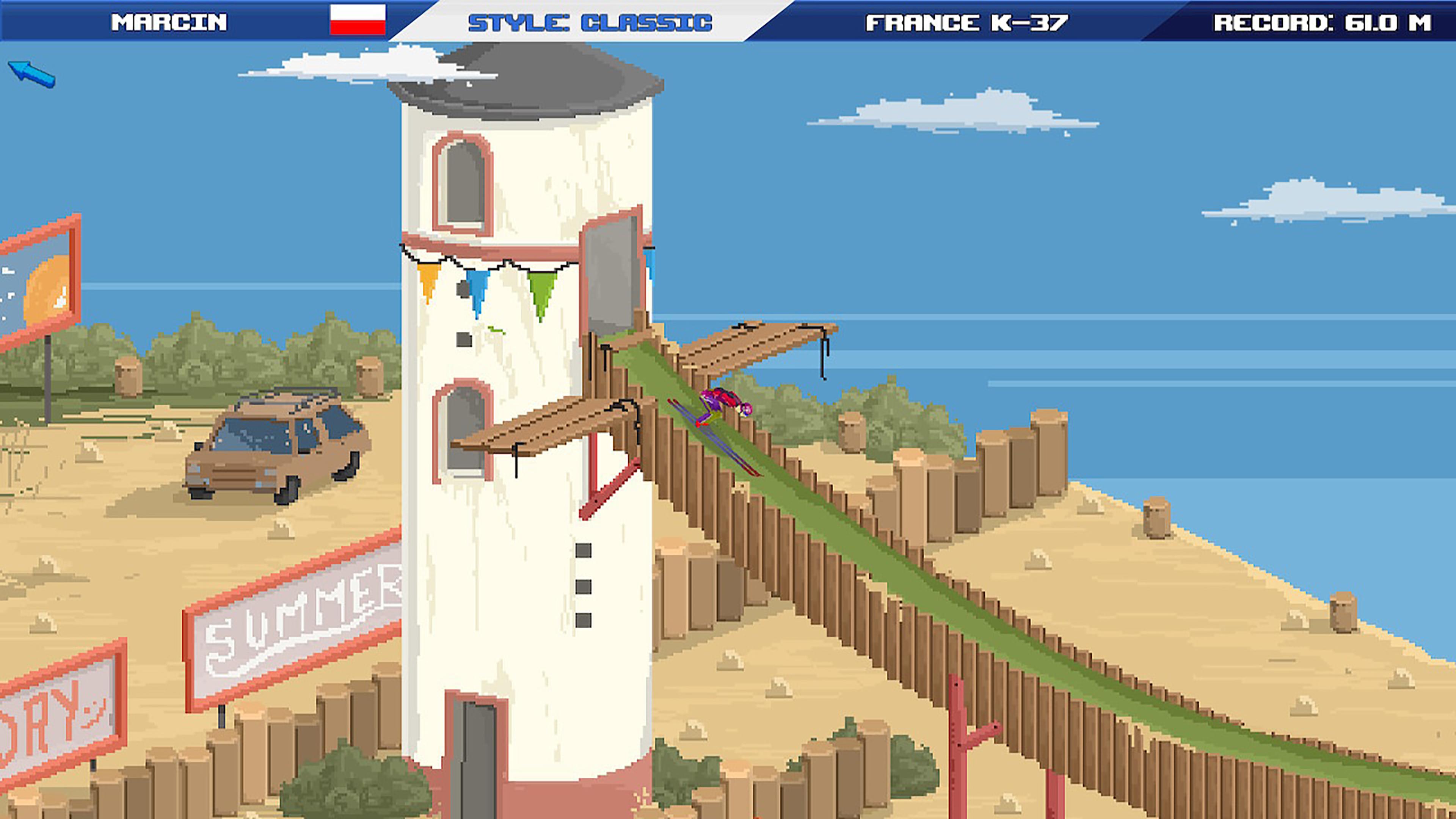 Скриншот №2 к Ultimate Ski Jumping 2020