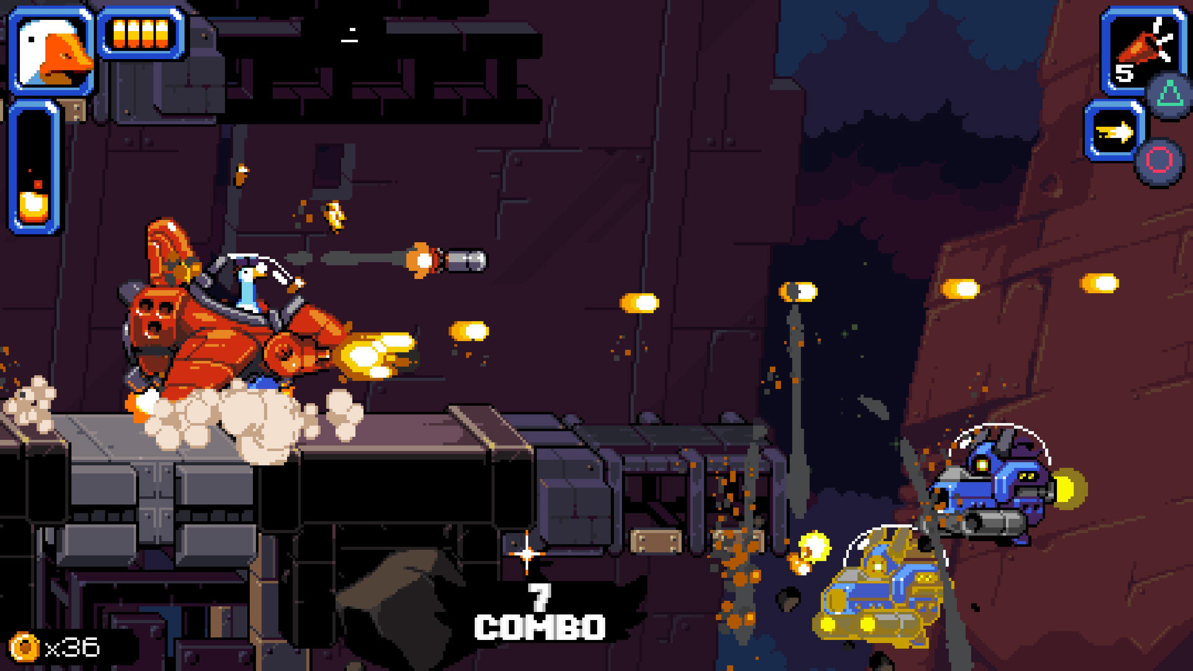 Скриншот №8 к Mighty Goose