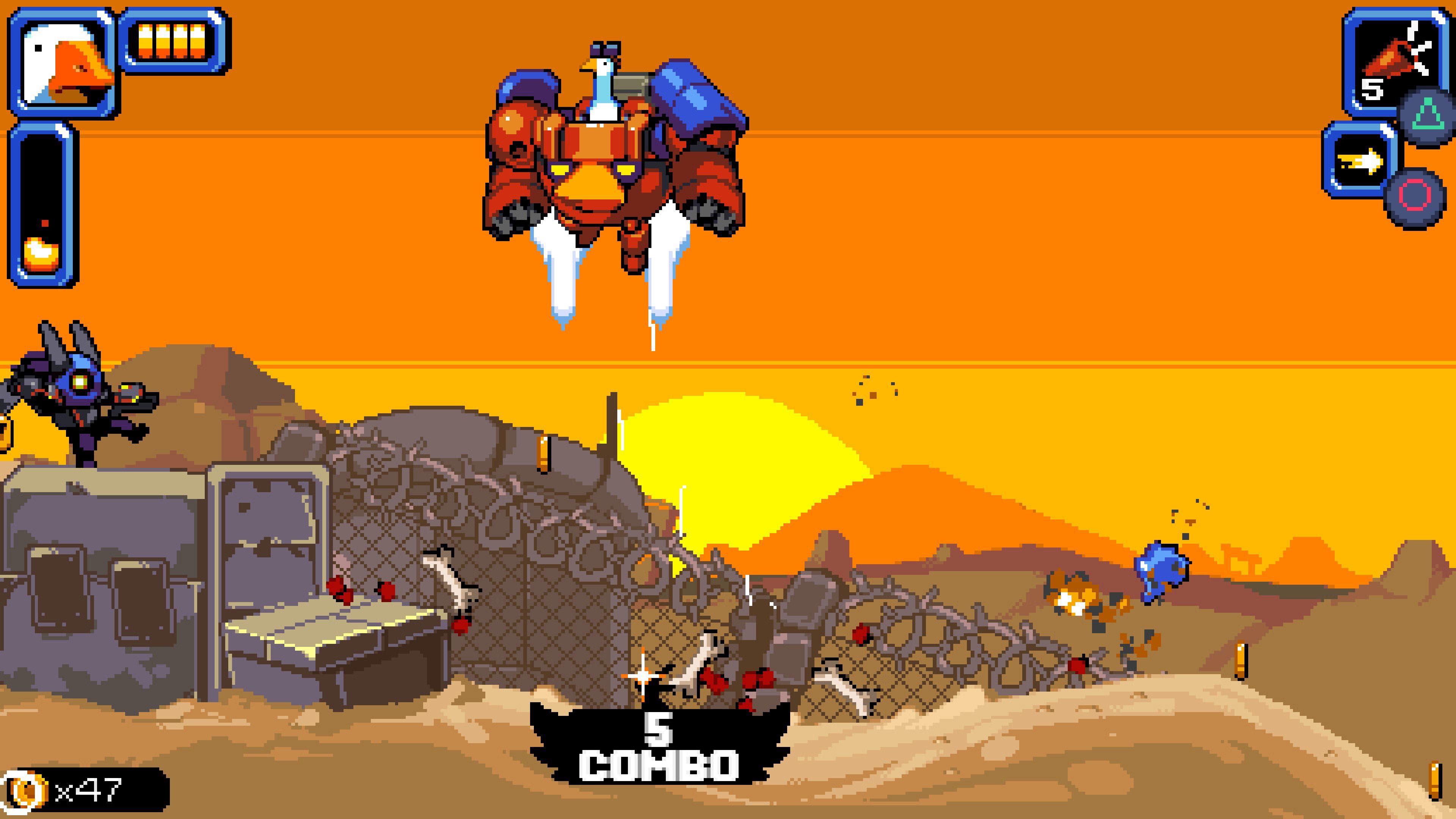 Скриншот №9 к Mighty Goose