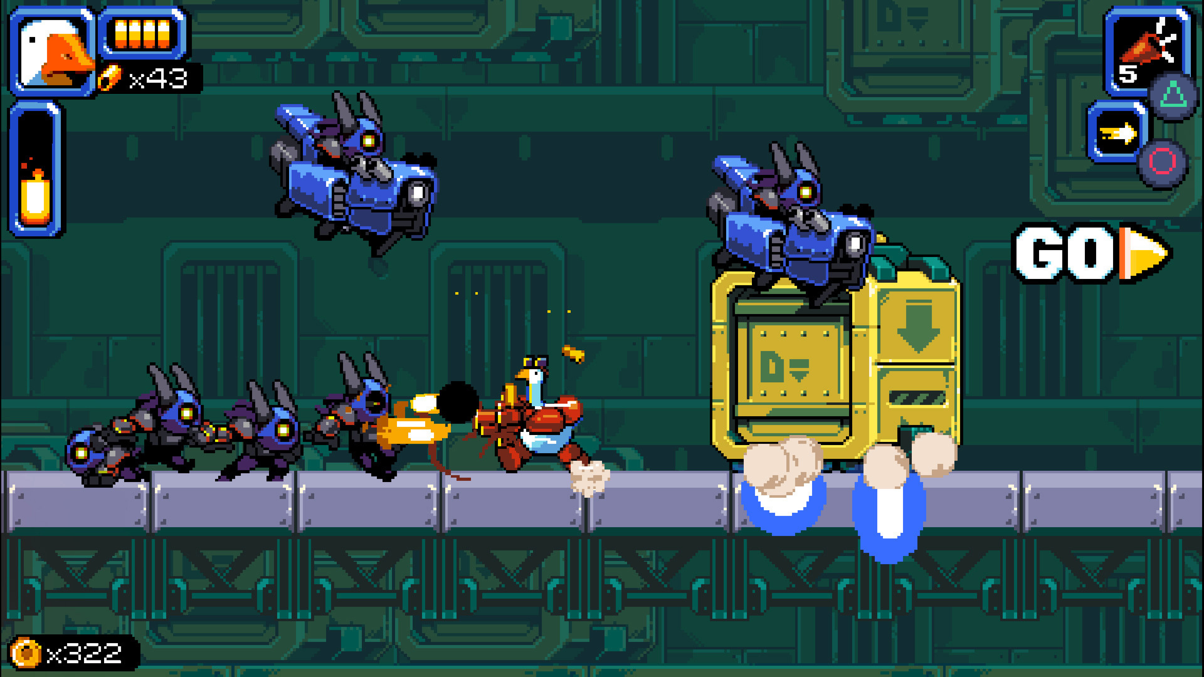 Скриншот №1 к Mighty Goose