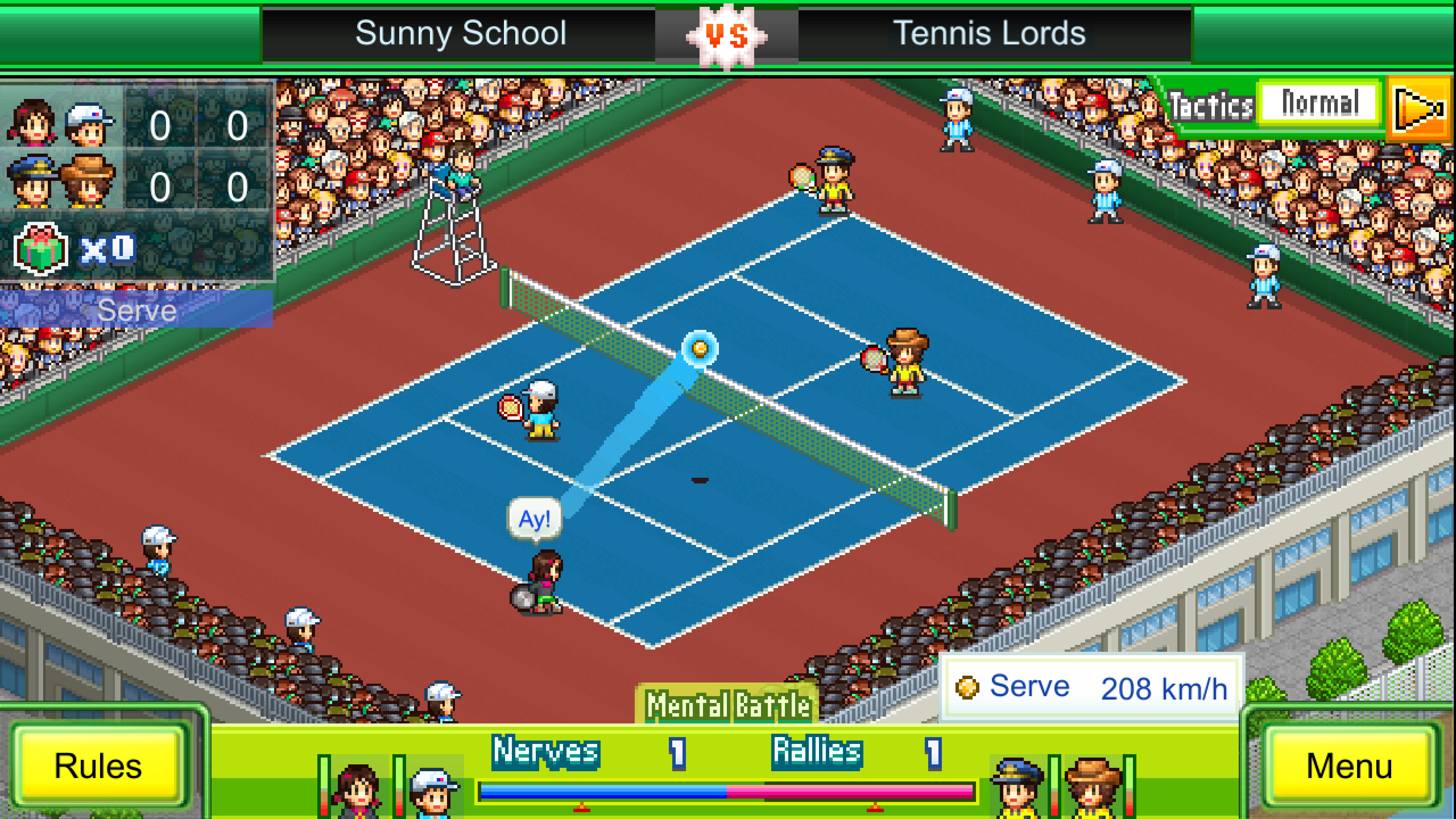 Скриншот №5 к Tennis Club Story