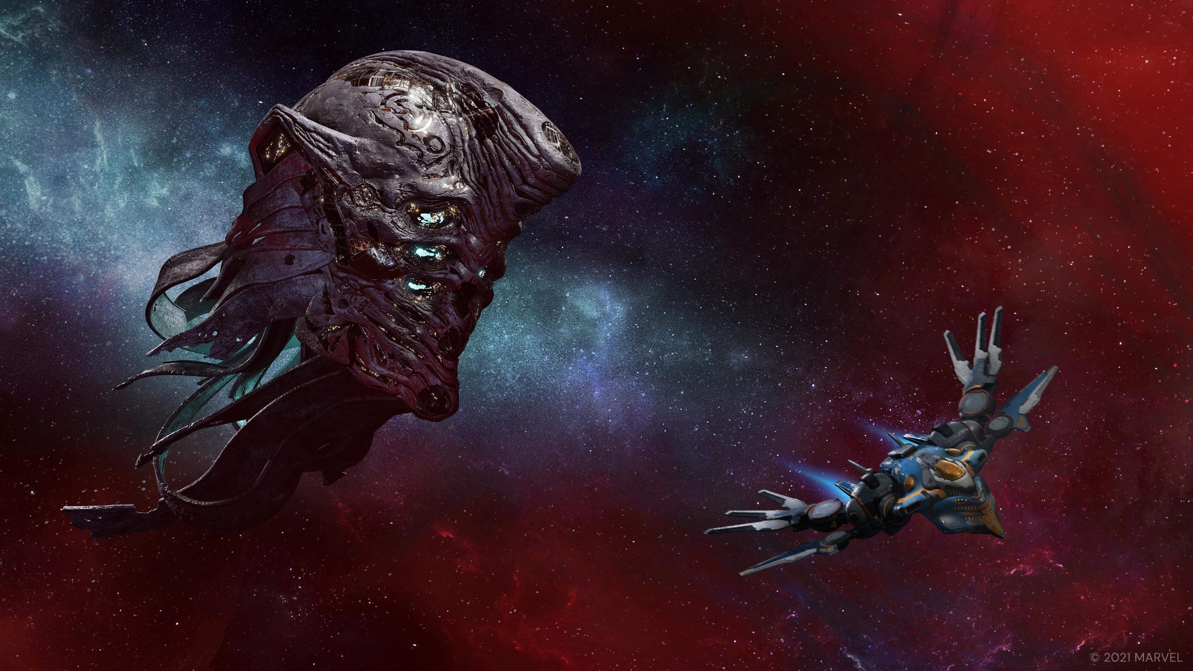 Скриншот №5 к «Стражи Галактики Marvel» цифровое издание Deluxe на PS4 и PS5