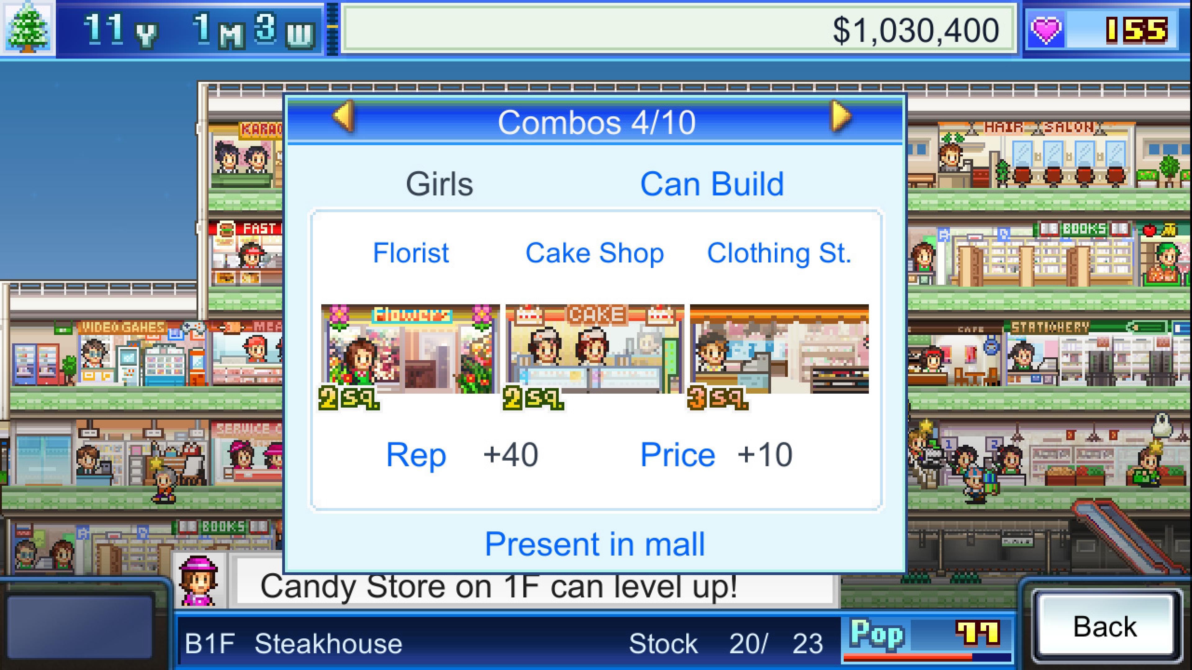 Скриншот №4 к Mega Mall Story