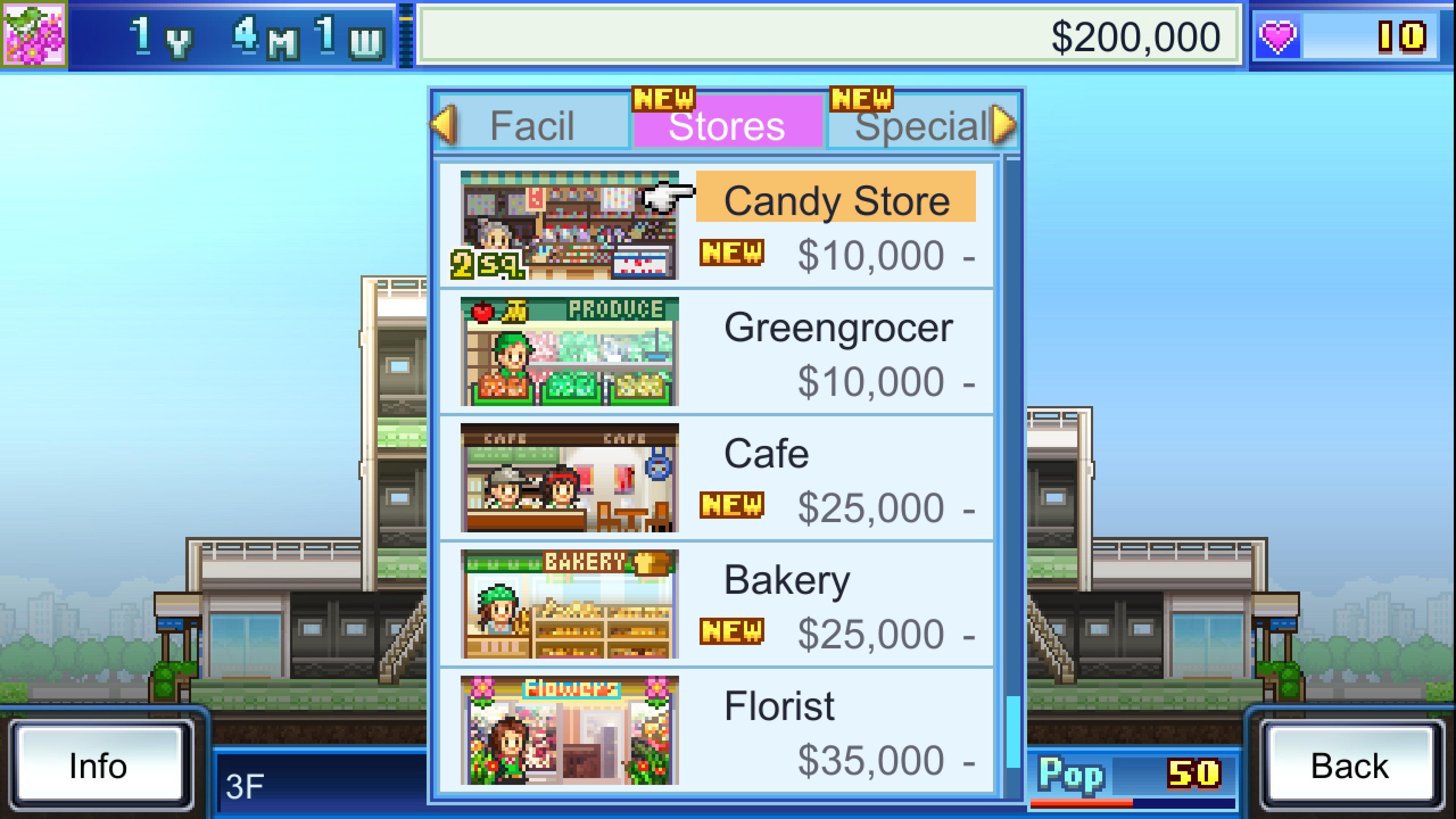 Скриншот №2 к Mega Mall Story