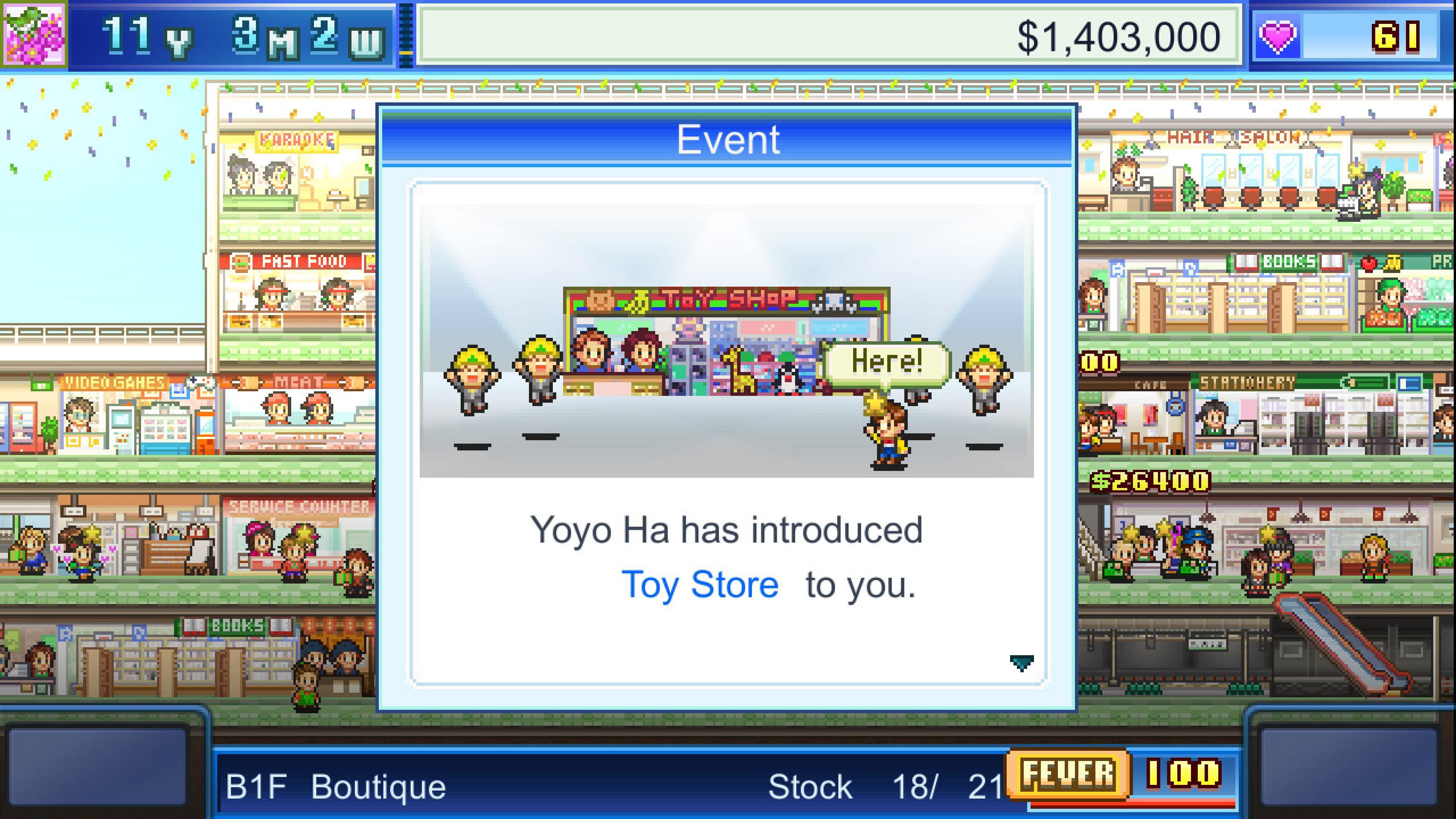 Скриншот №3 к Mega Mall Story
