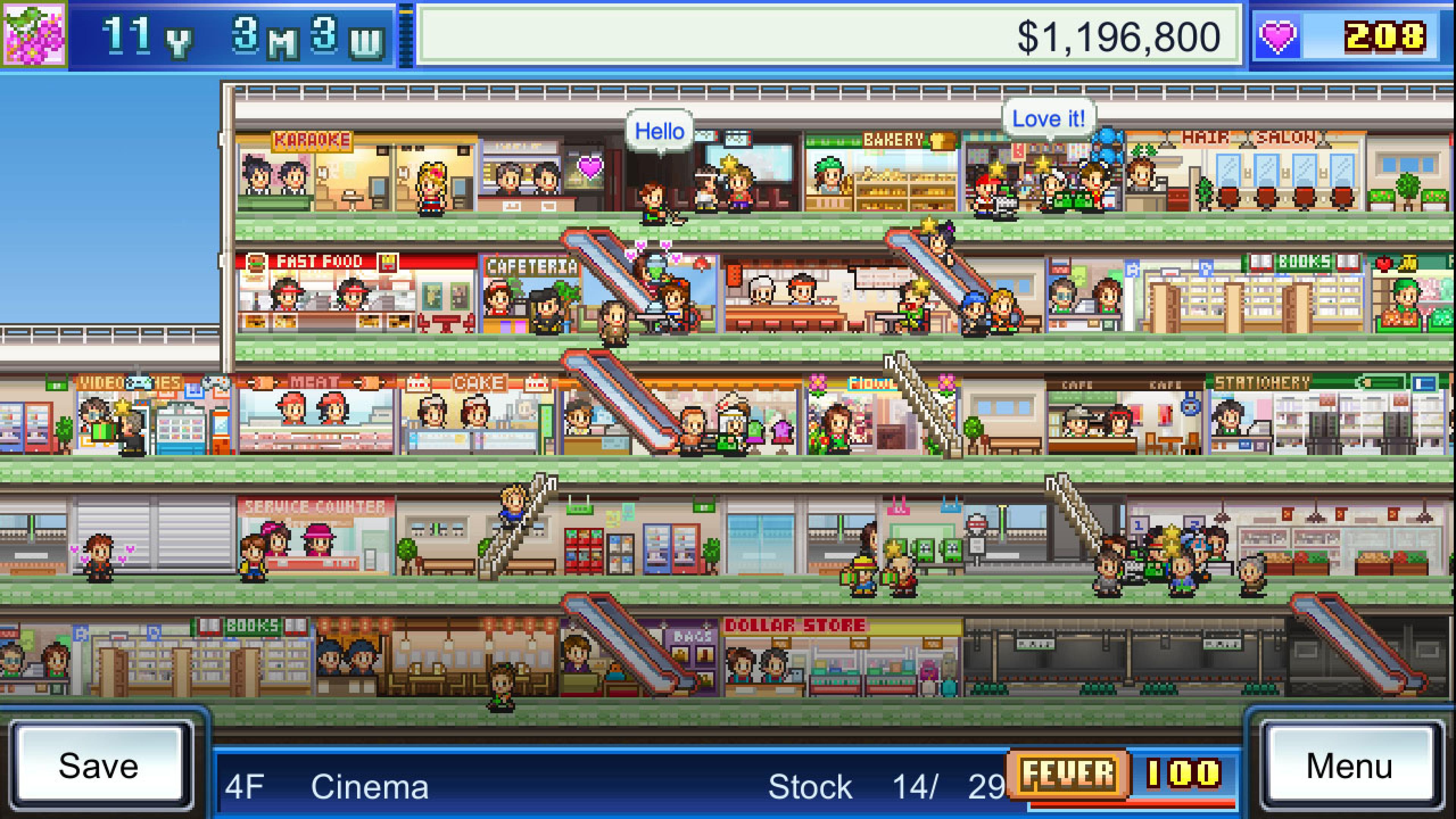 Скриншот №1 к Mega Mall Story