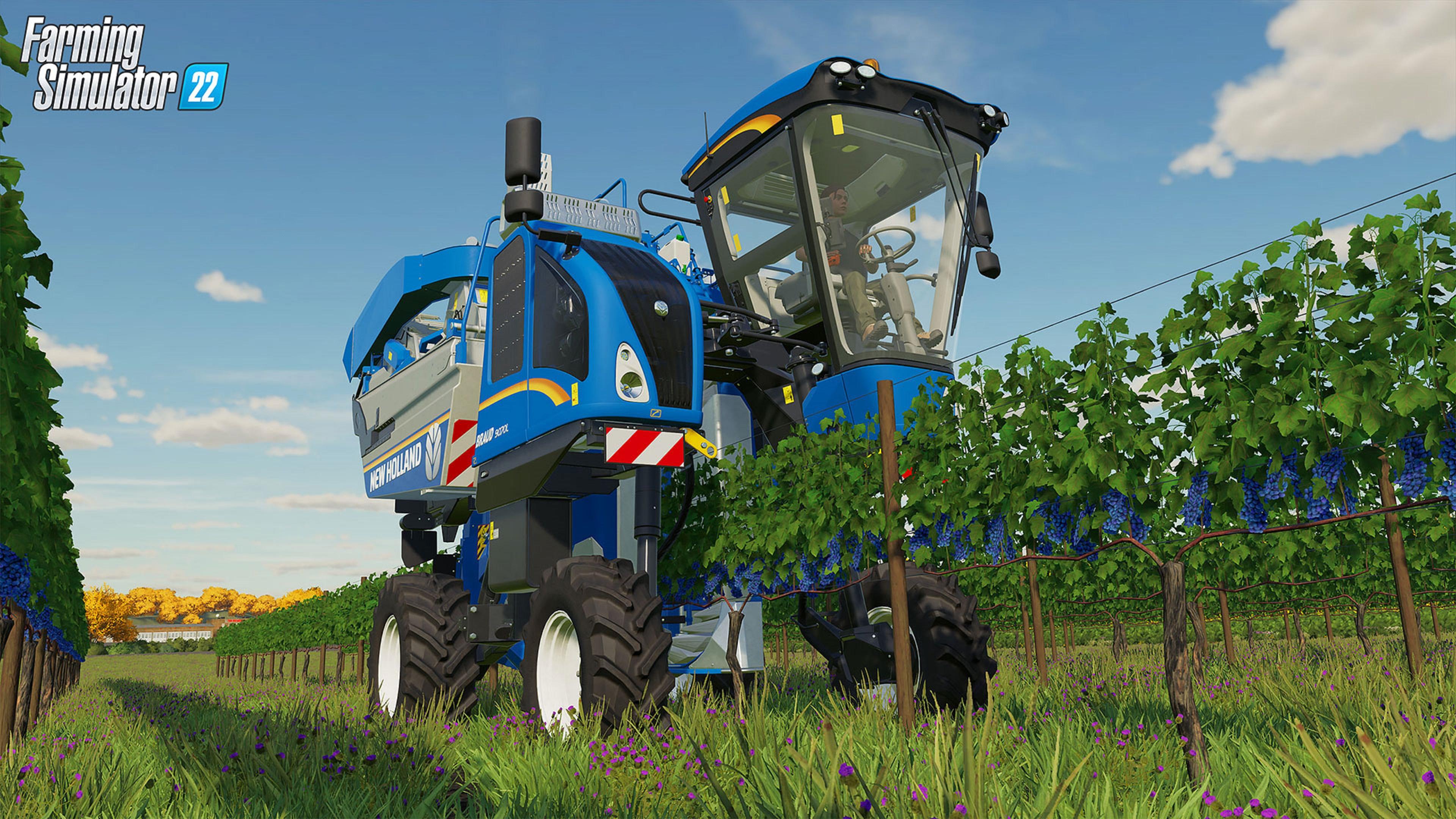 Скриншот №1 к Farming Simulator 22 PS4 and PS5