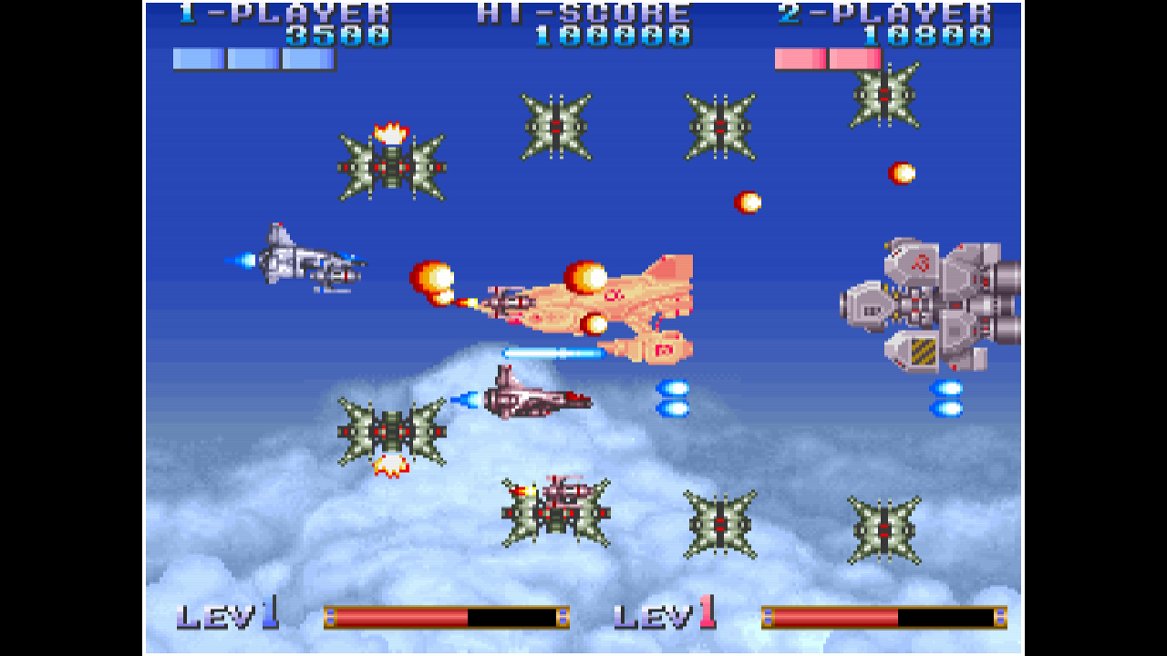 Скриншот №2 к Arcade Archives EARTH DEFENSE FORCE
