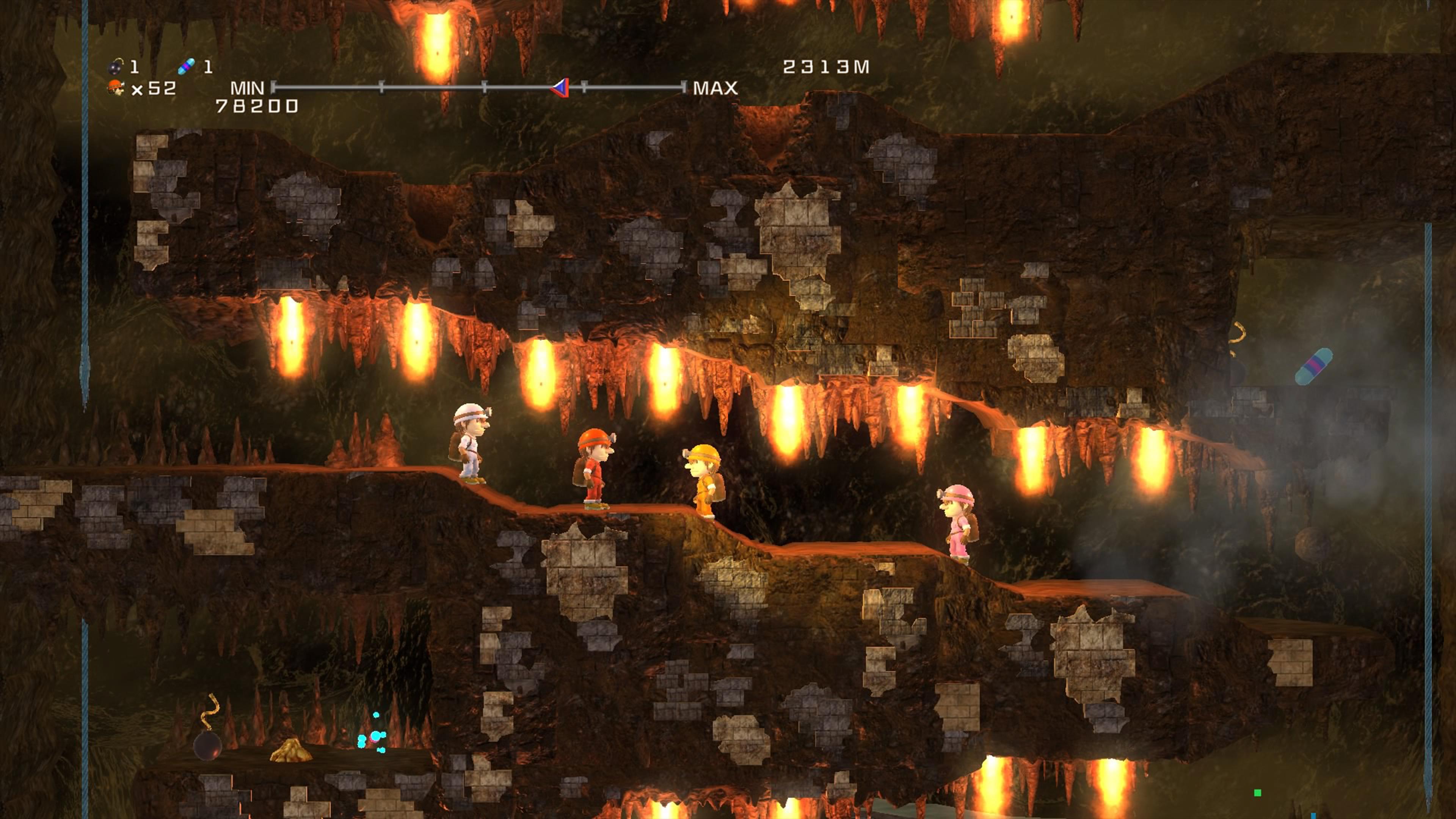 Скриншот №9 к Spelunker HD Deluxe