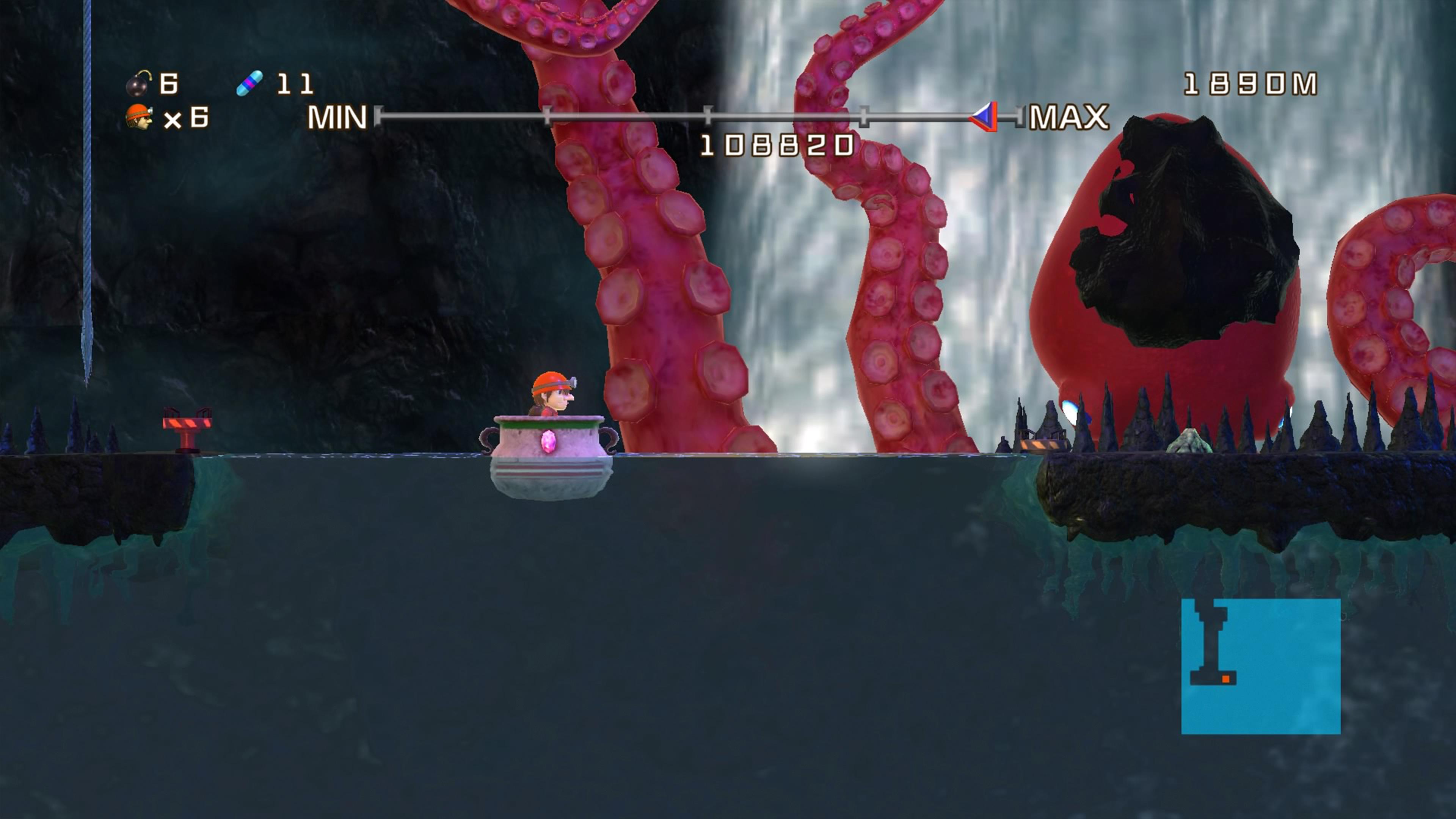 Скриншот №6 к Spelunker HD Deluxe