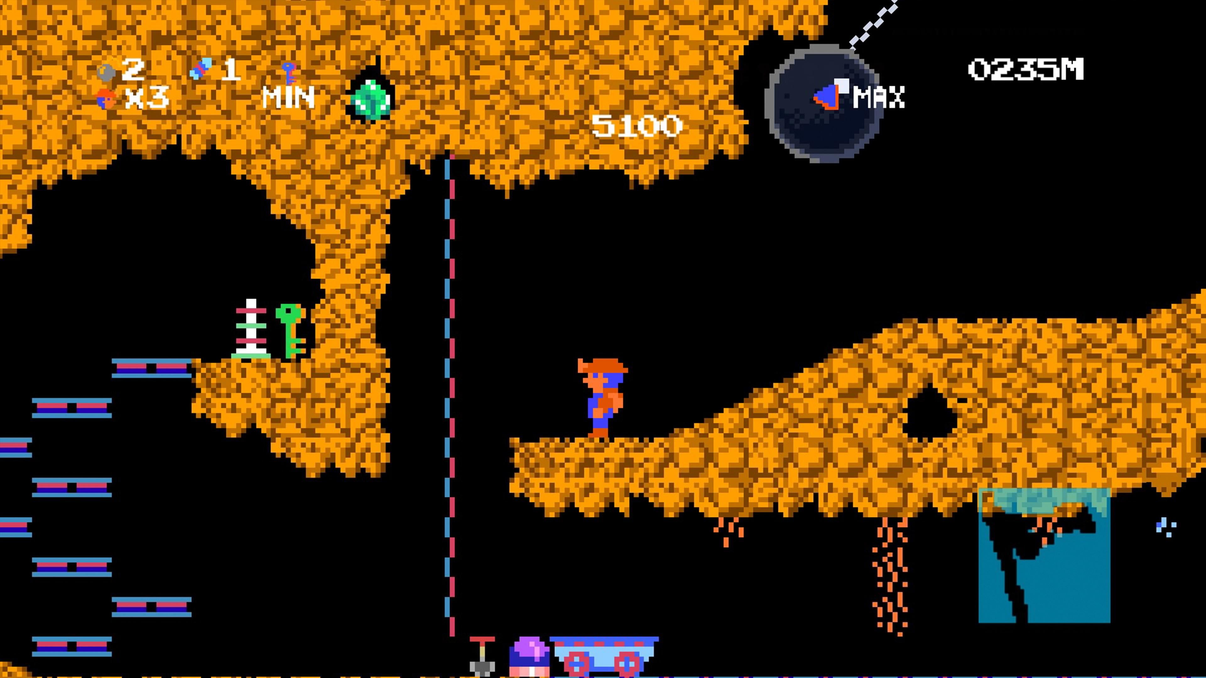 Скриншот №7 к Spelunker HD Deluxe