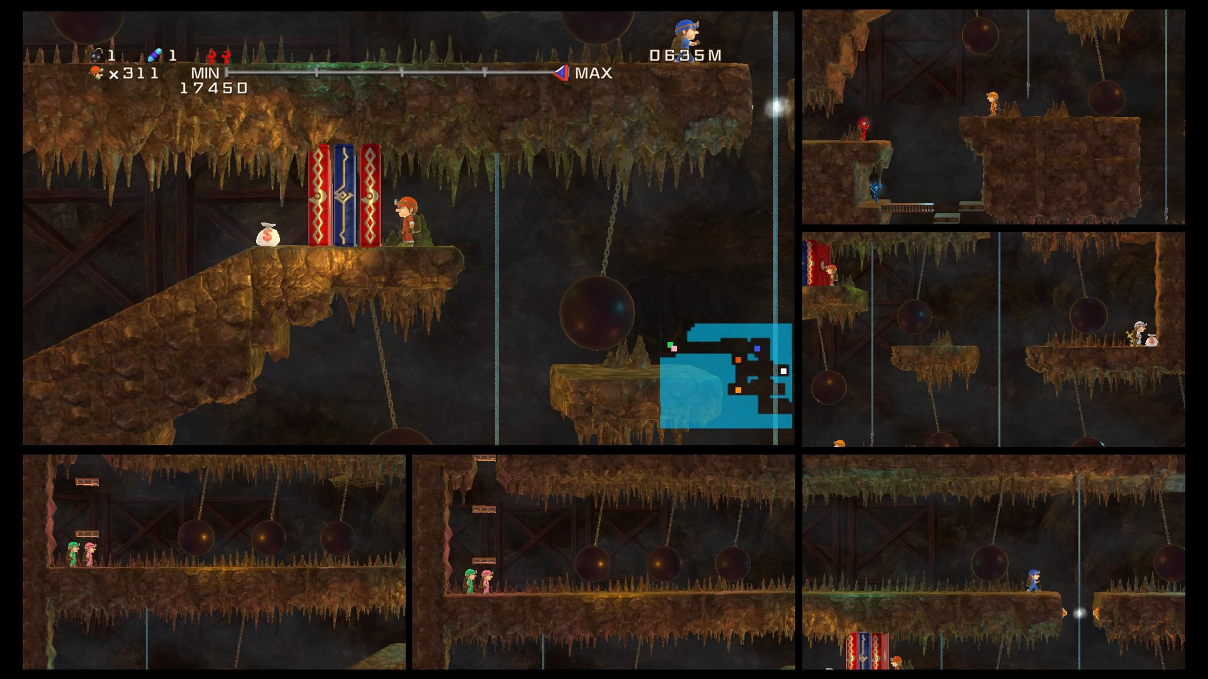Скриншот №8 к Spelunker HD Deluxe