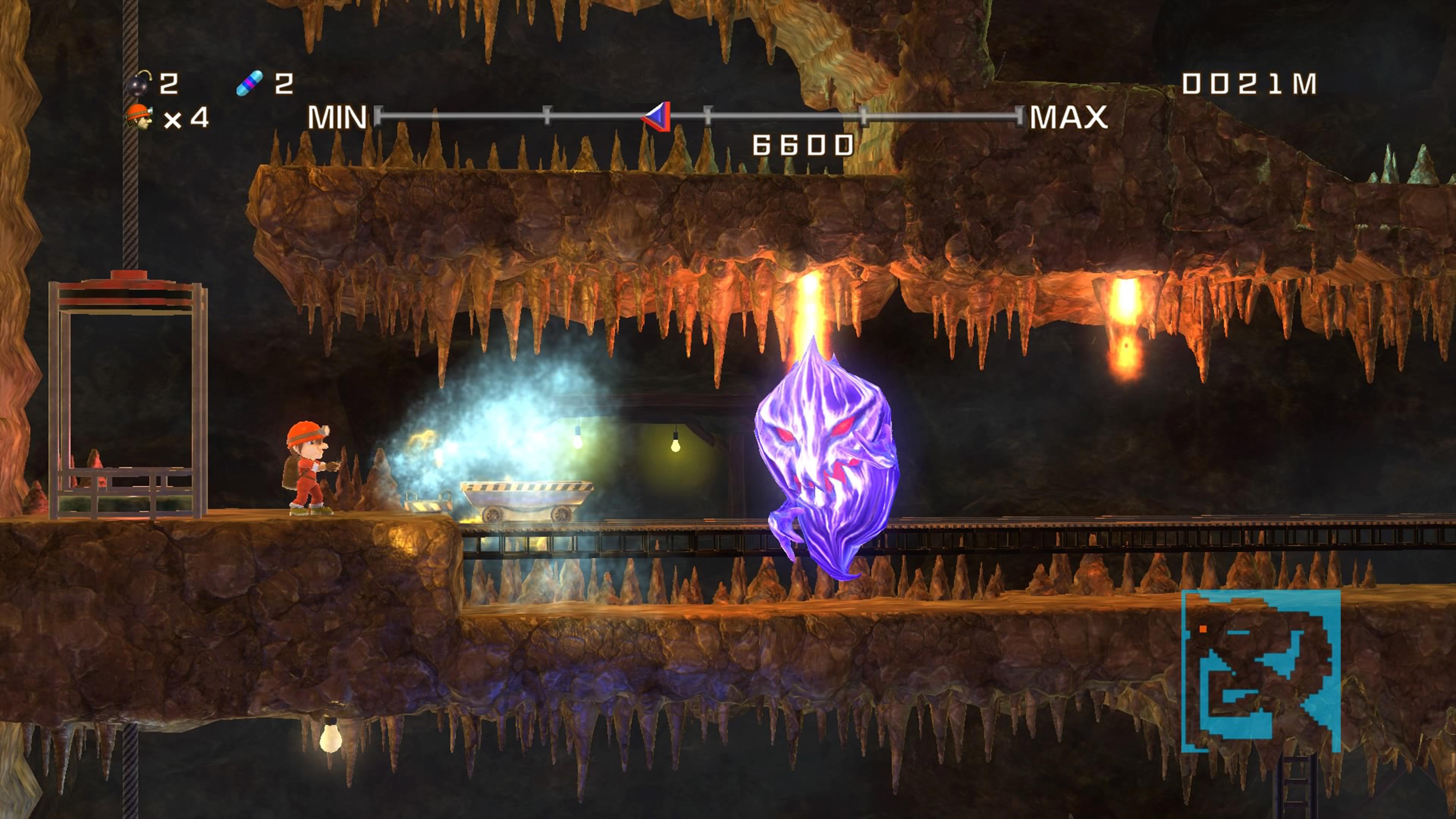 Скриншот №5 к Spelunker HD Deluxe