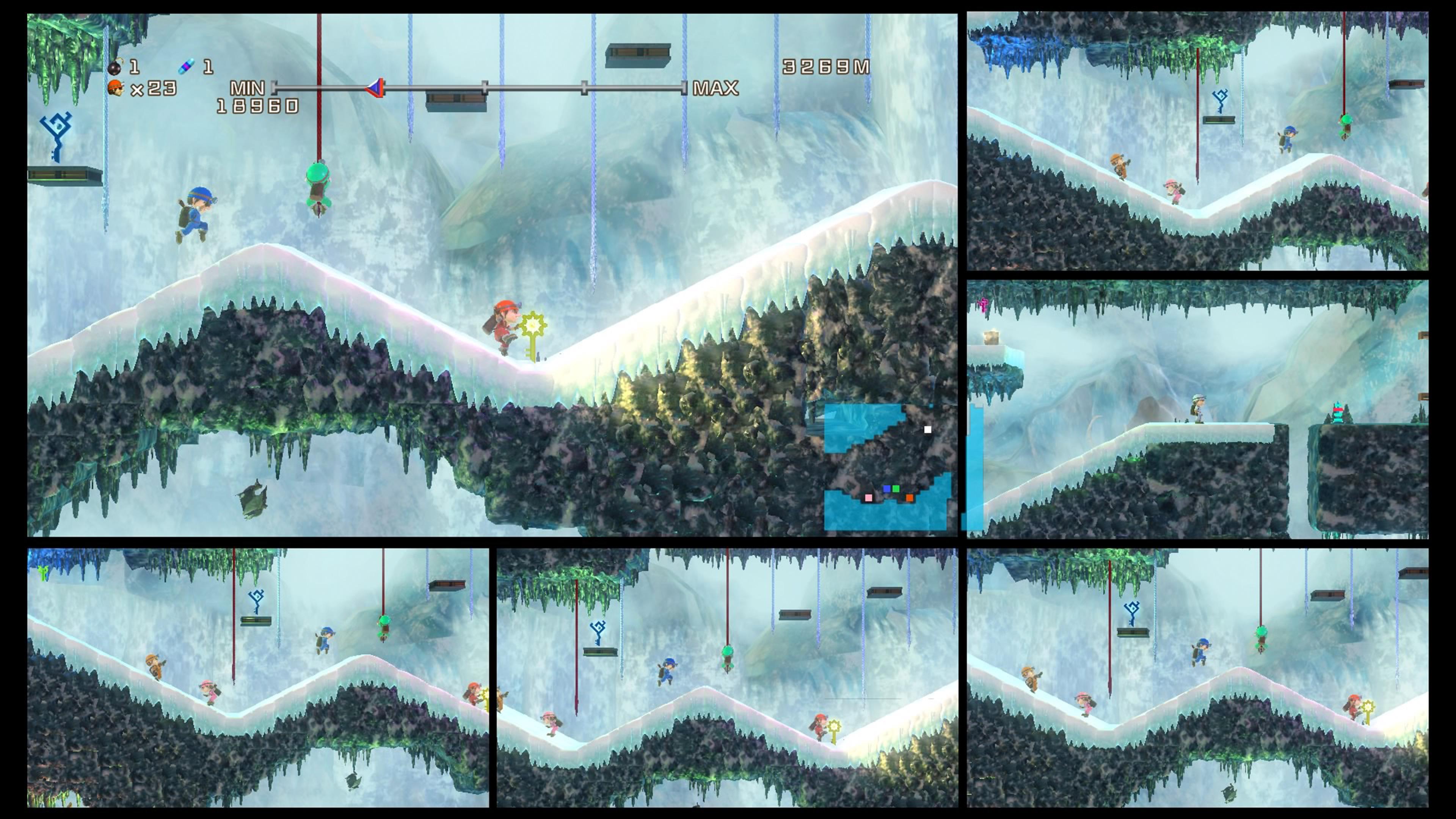 Скриншот №4 к Spelunker HD Deluxe
