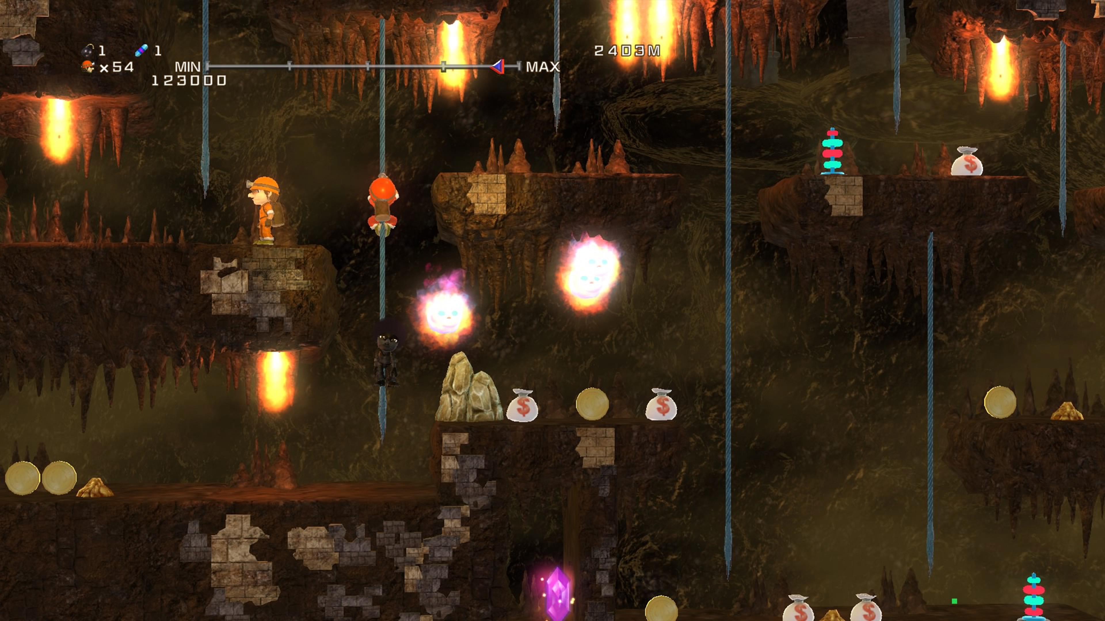 Скриншот №10 к Spelunker HD Deluxe