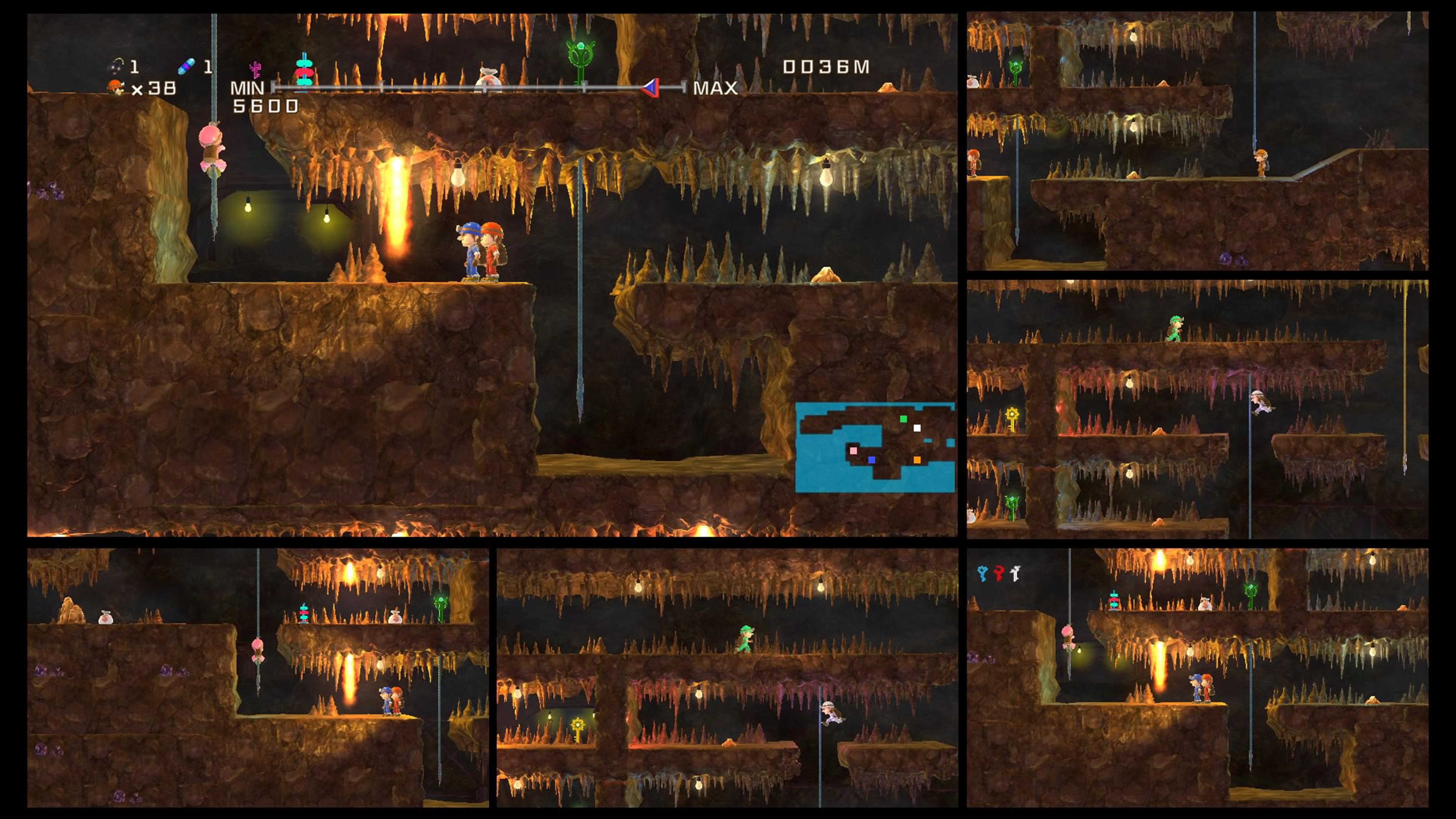 Скриншот №3 к Spelunker HD Deluxe