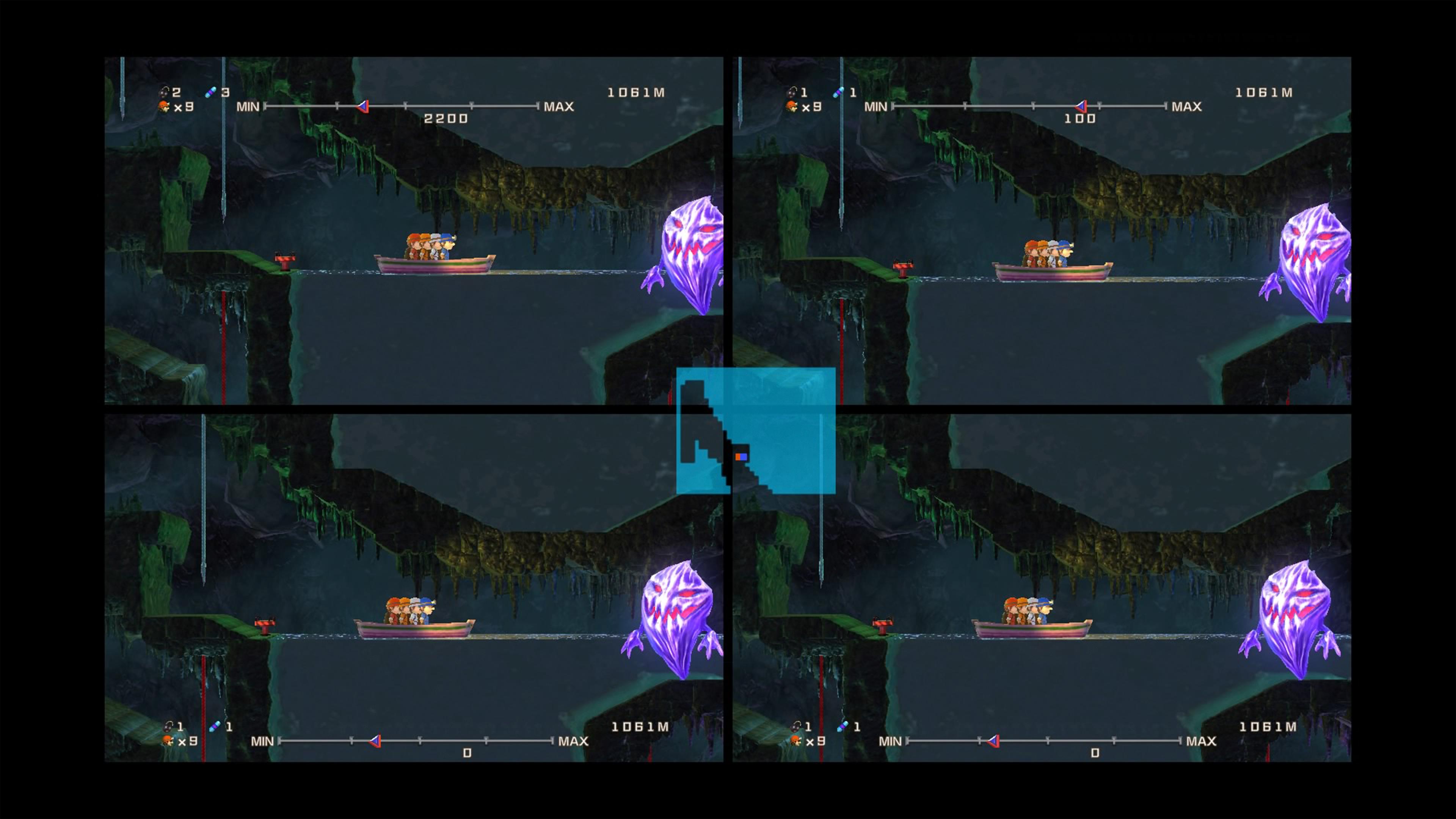 Скриншот №1 к Spelunker HD Deluxe