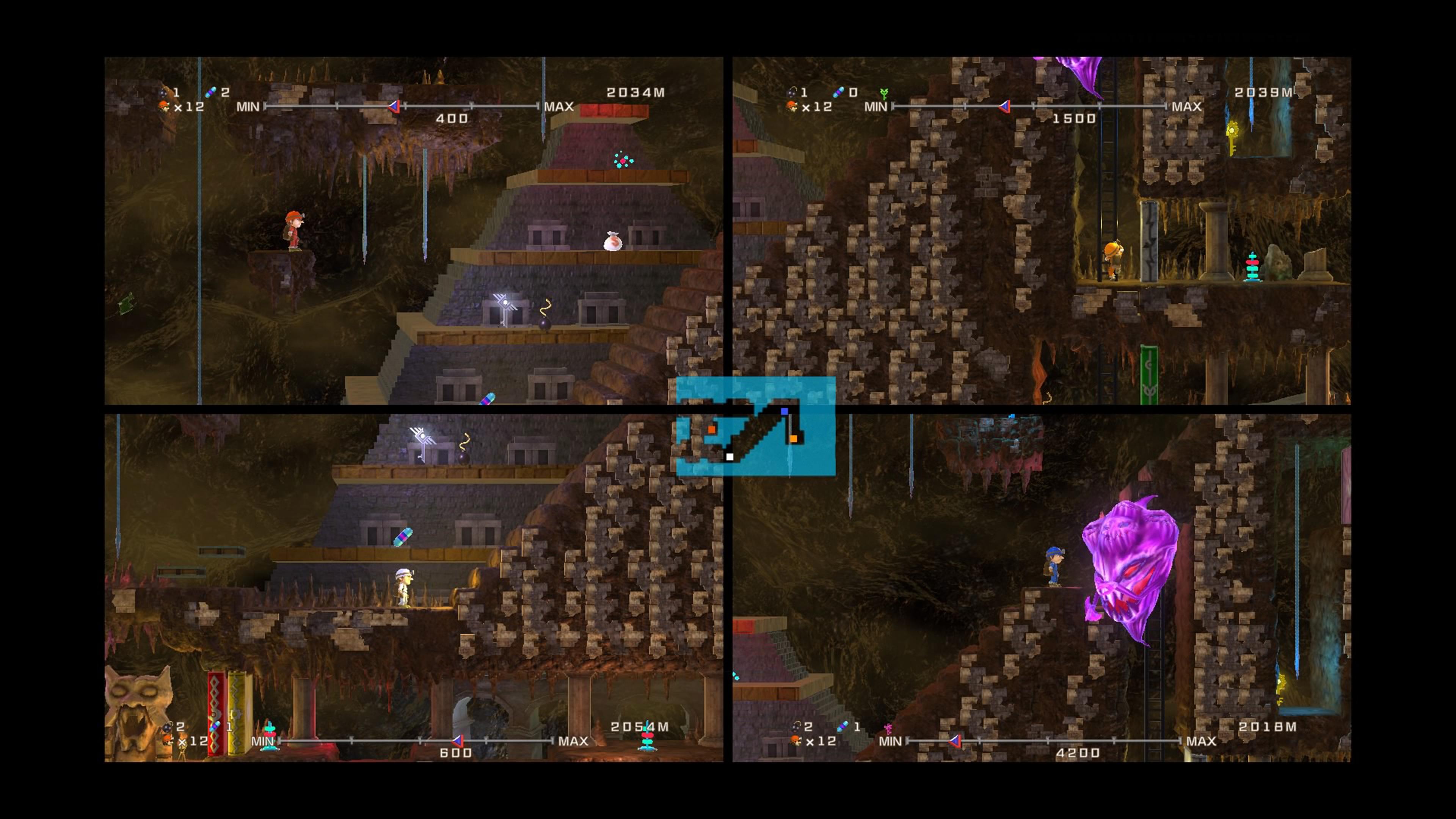 Скриншот №2 к Spelunker HD Deluxe
