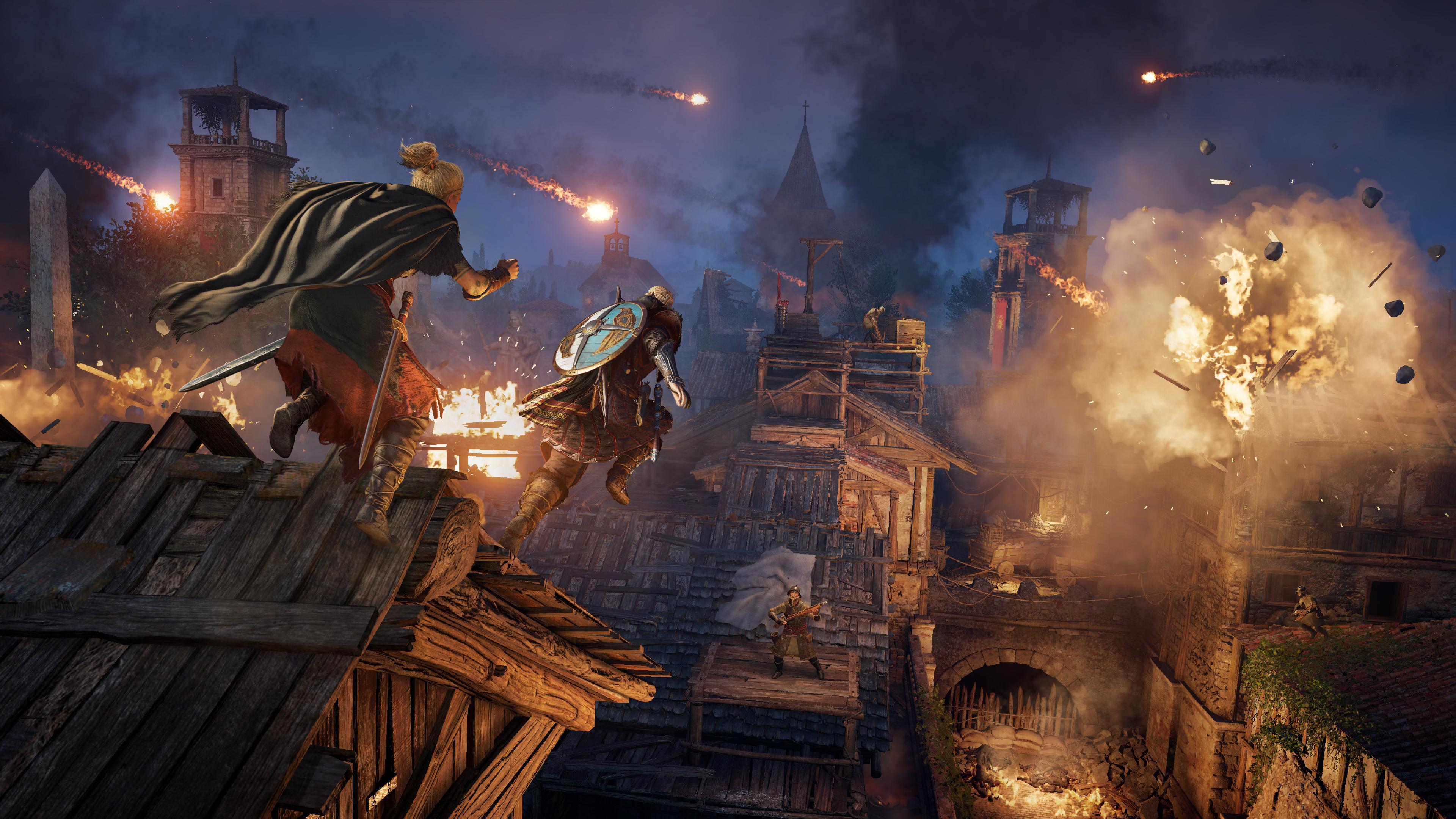 Скриншот №1 к Assassins Creed Вальгалла - Осада Парижа