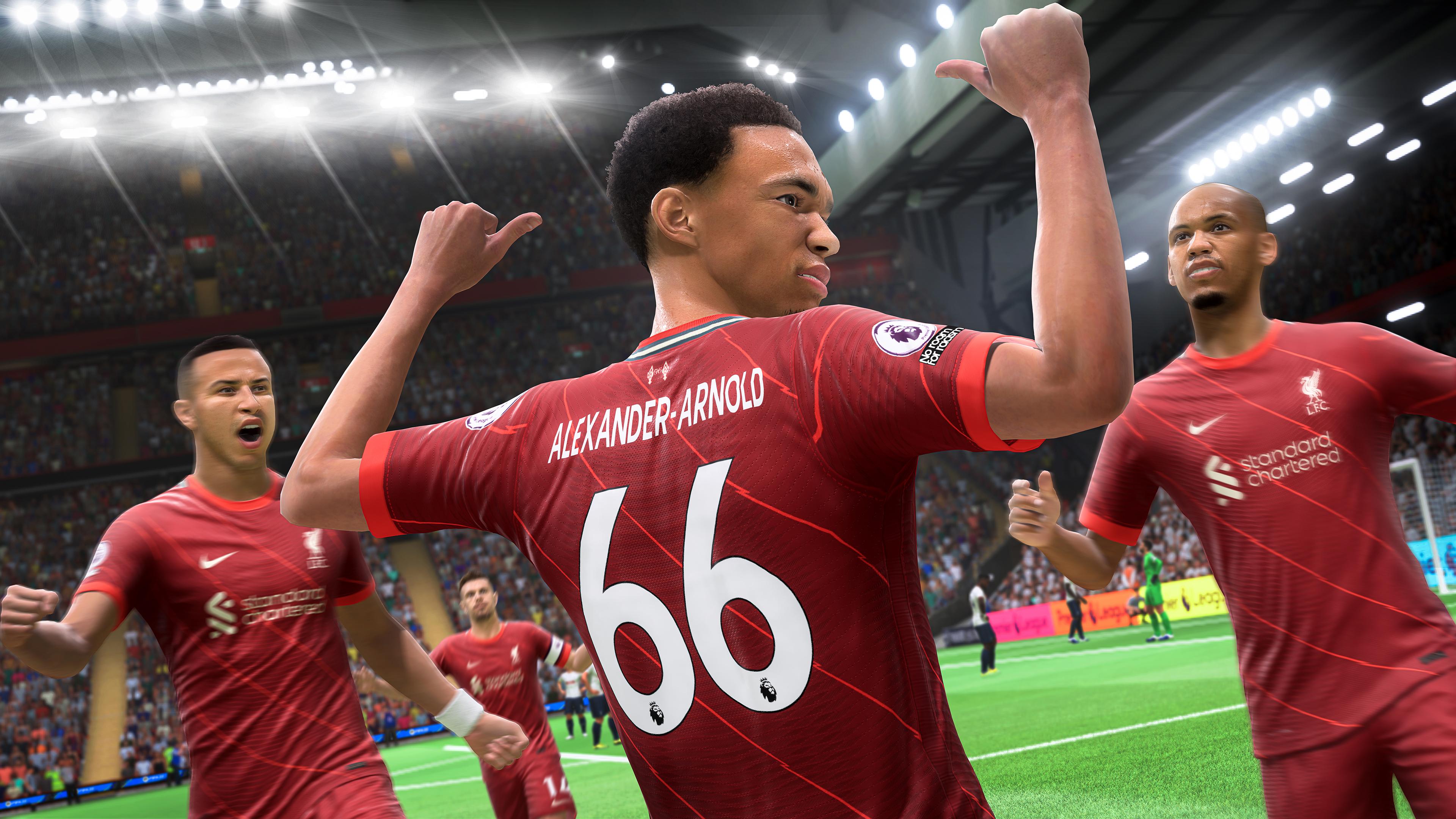 Скриншот №1 к FIFA 22 PS4
