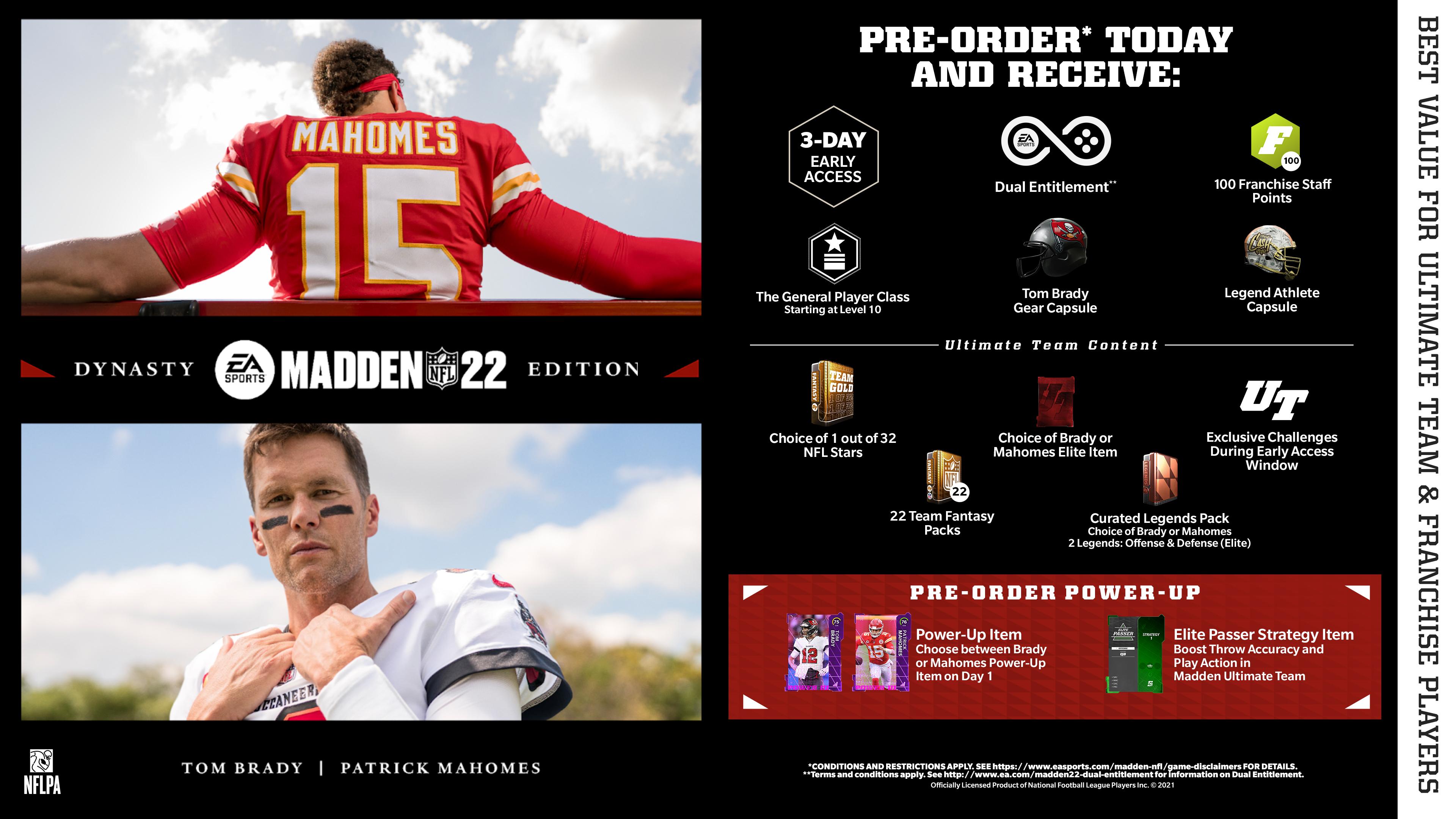 Скриншот №5 к Madden NFL 22 издание «Династия» PS4 and PS5