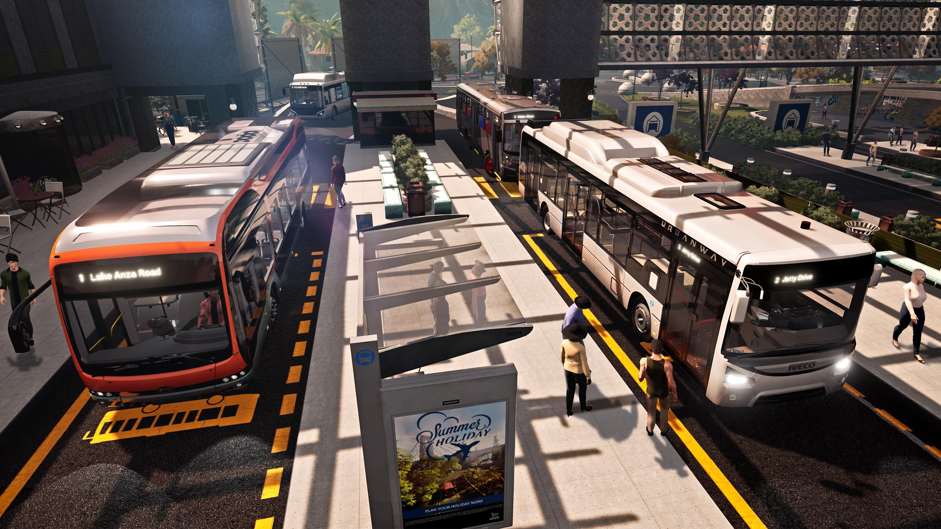 Скриншот №1 к Bus Simulator 21