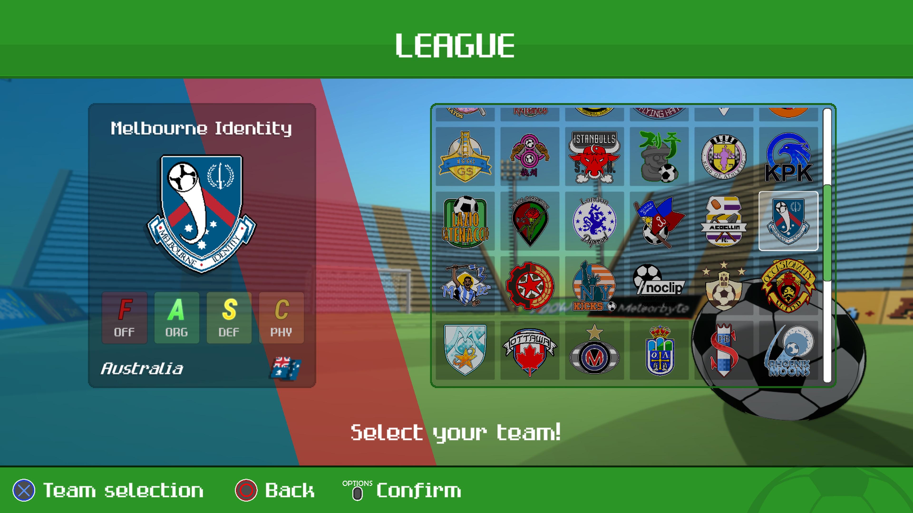 Скриншот №4 к World Soccer Strikers 91