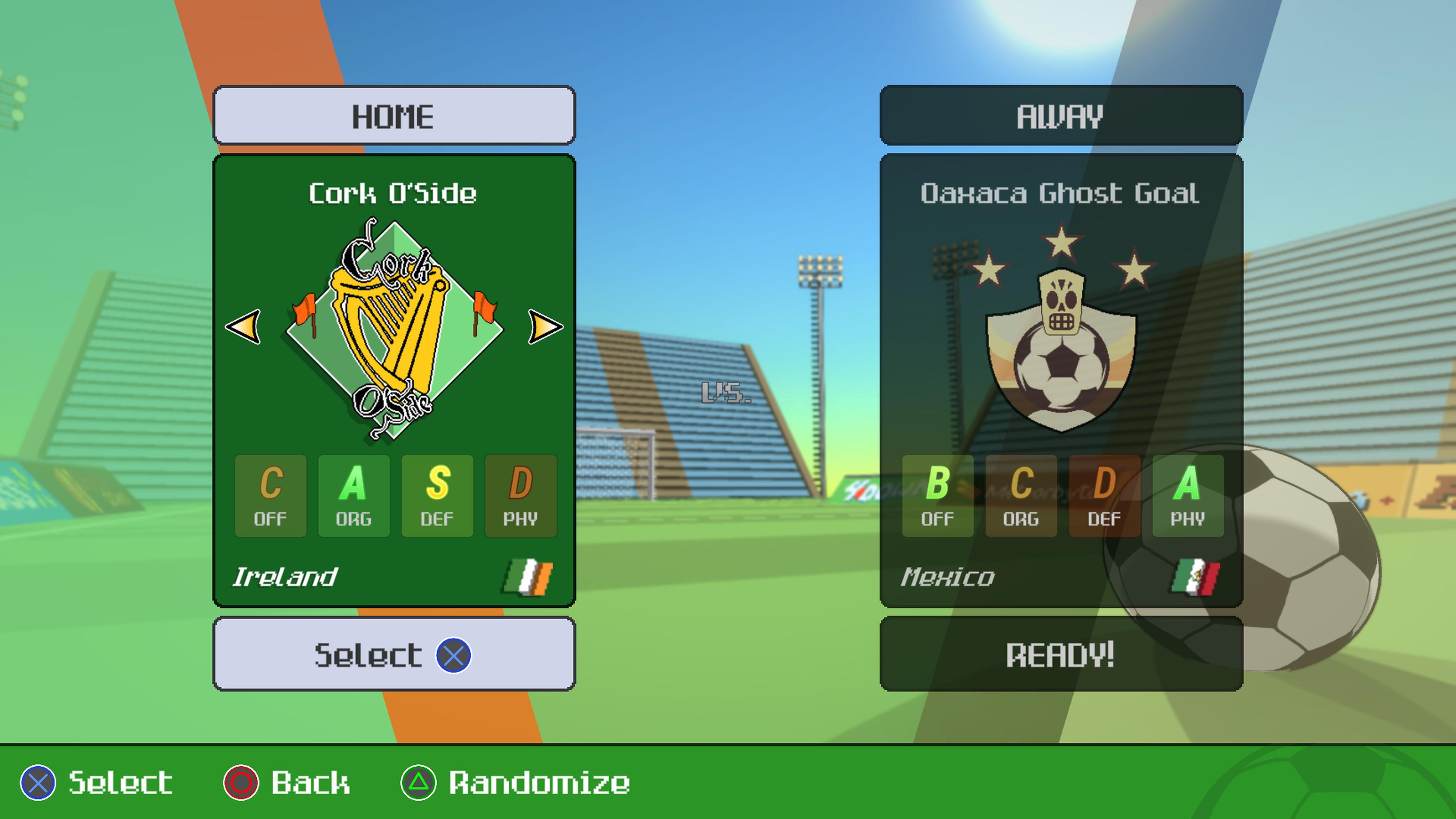 Скриншот №3 к World Soccer Strikers 91
