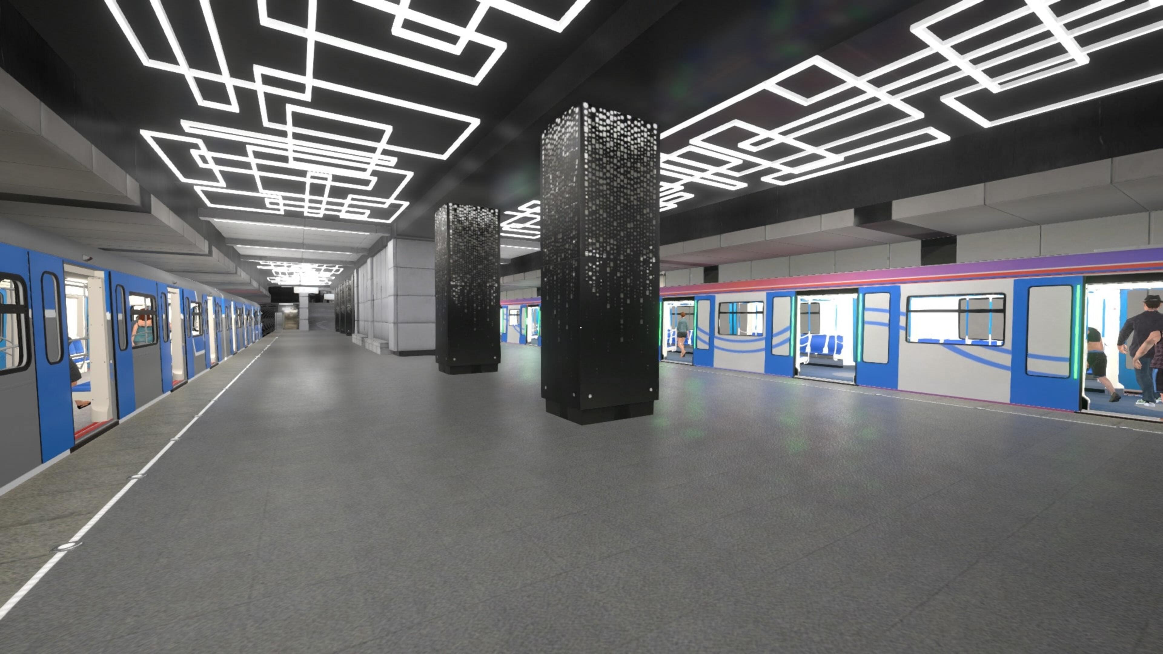 Скриншот №7 к Metro Simulator