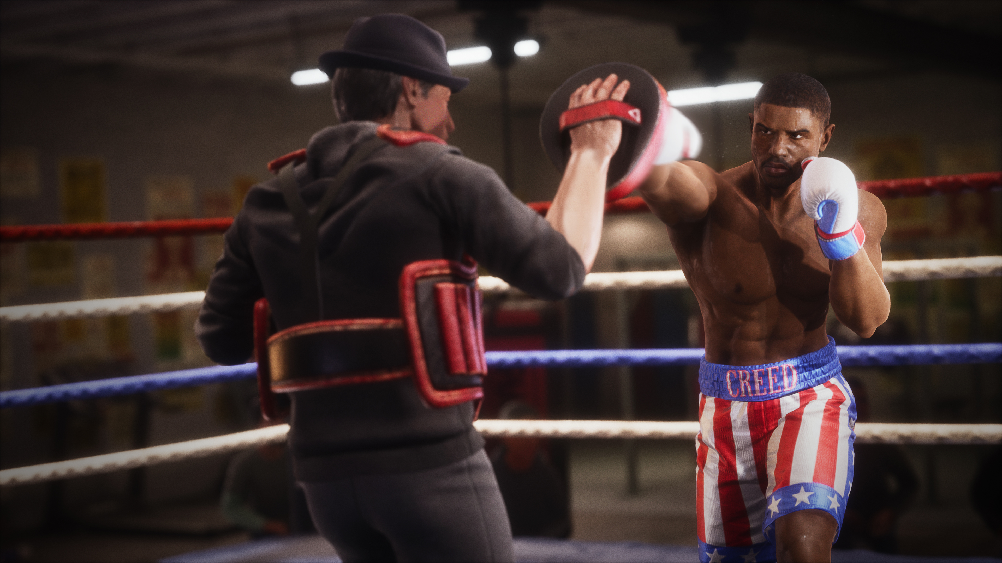 Скриншот №6 к Big Rumble Boxing Creed Champions