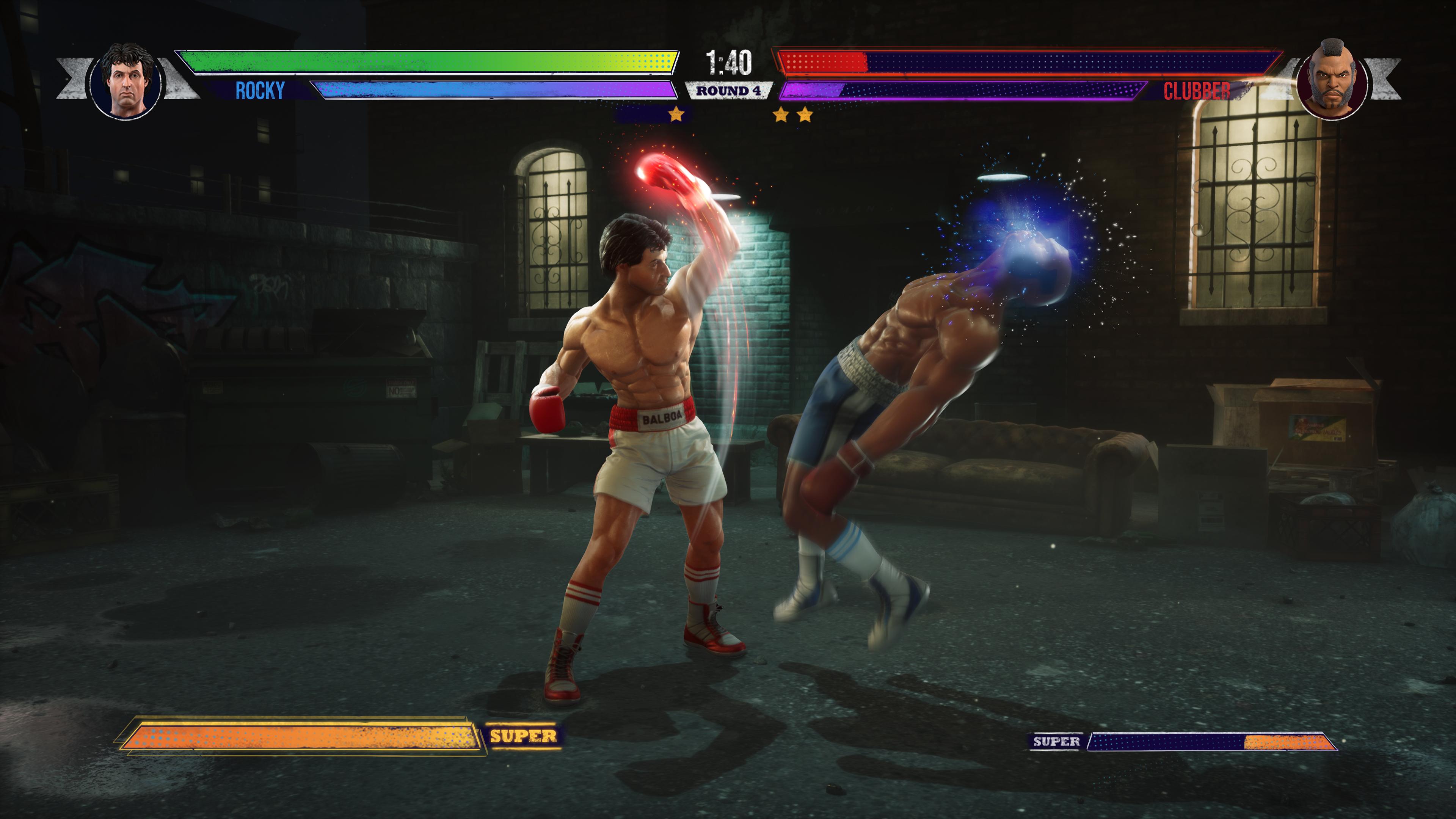 Скриншот №4 к Big Rumble Boxing Creed Champions