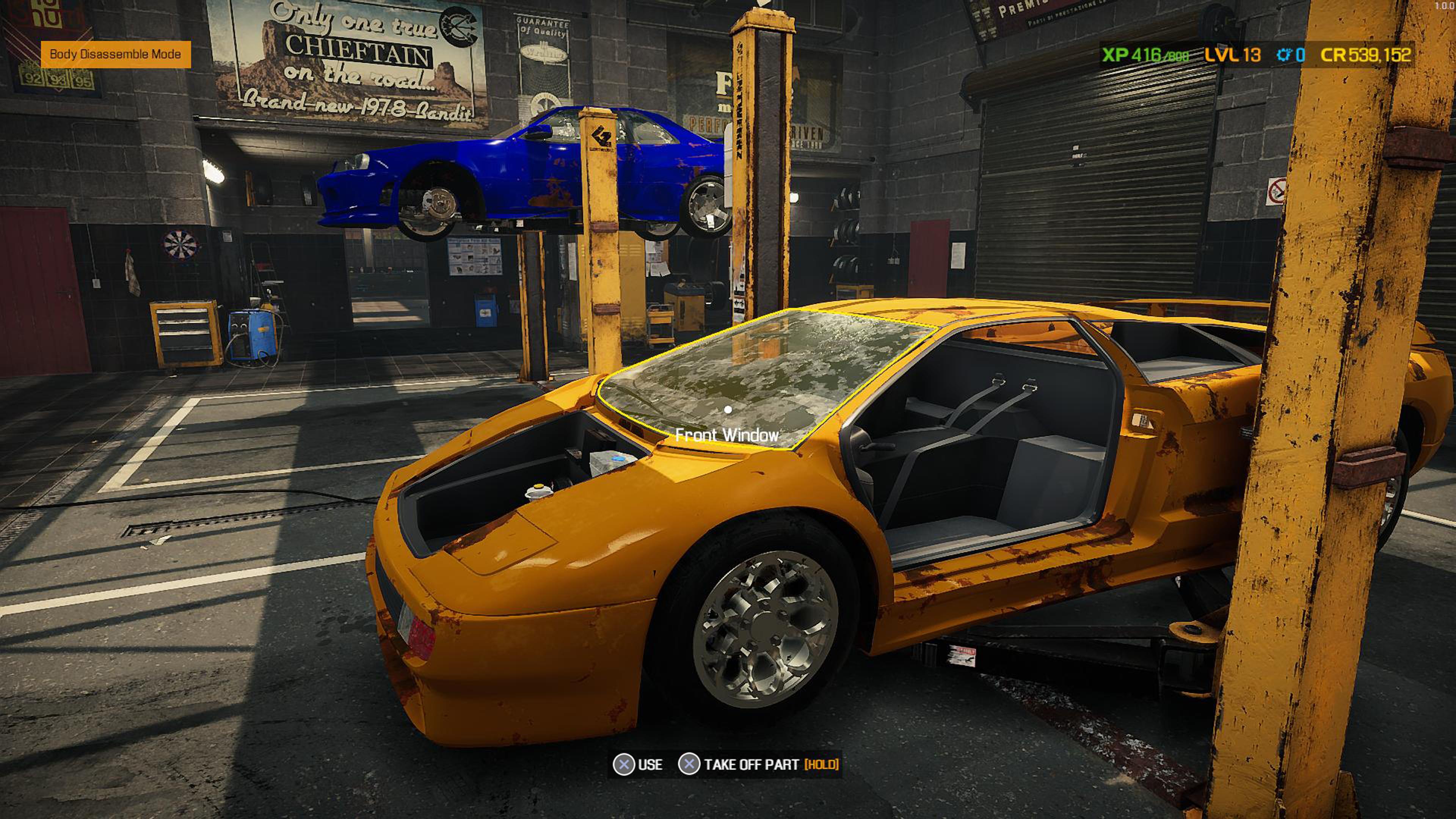 Скриншот №1 к Car Mechanic Simulator 2021