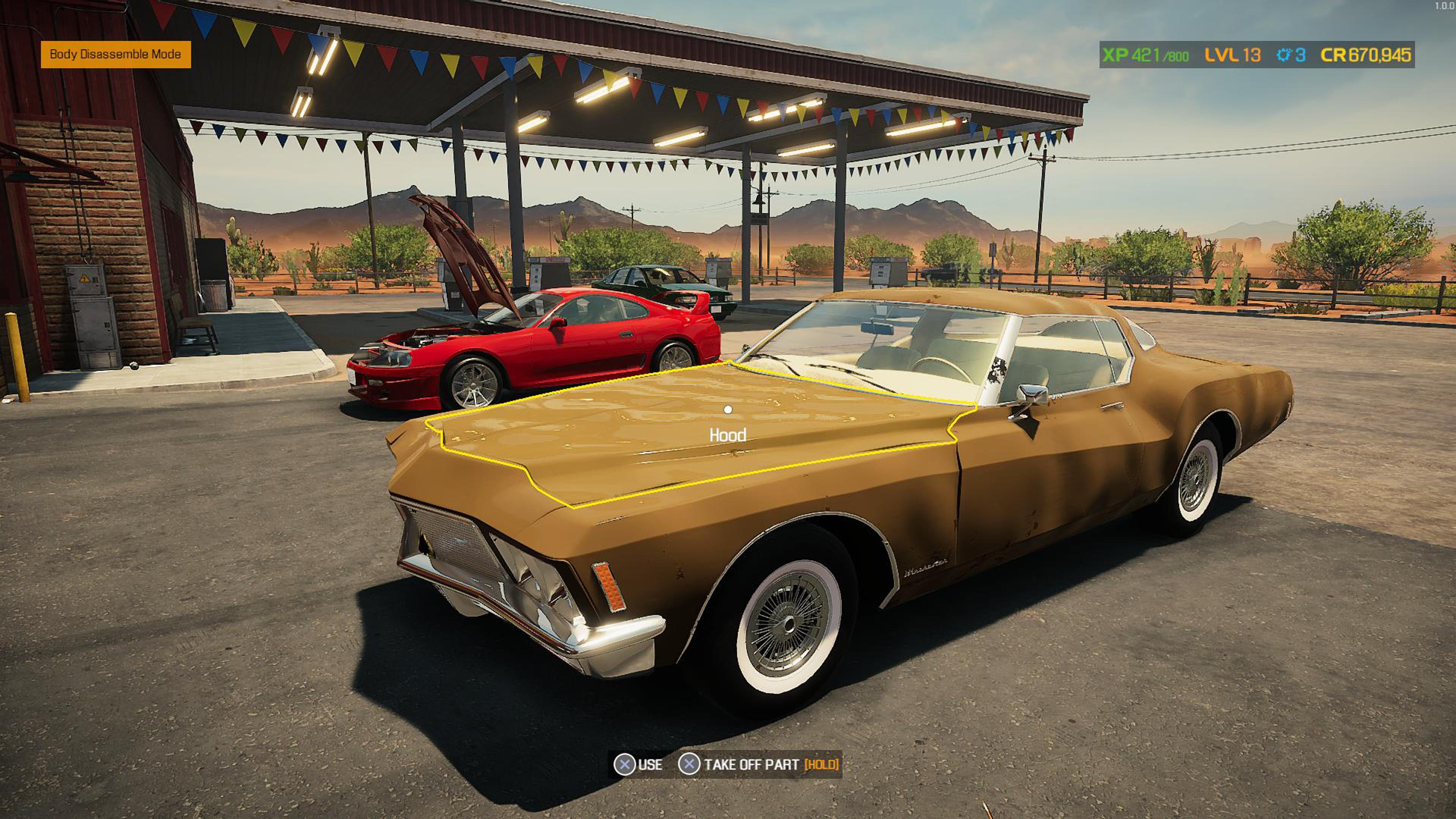 Скриншот №3 к Car Mechanic Simulator 2021