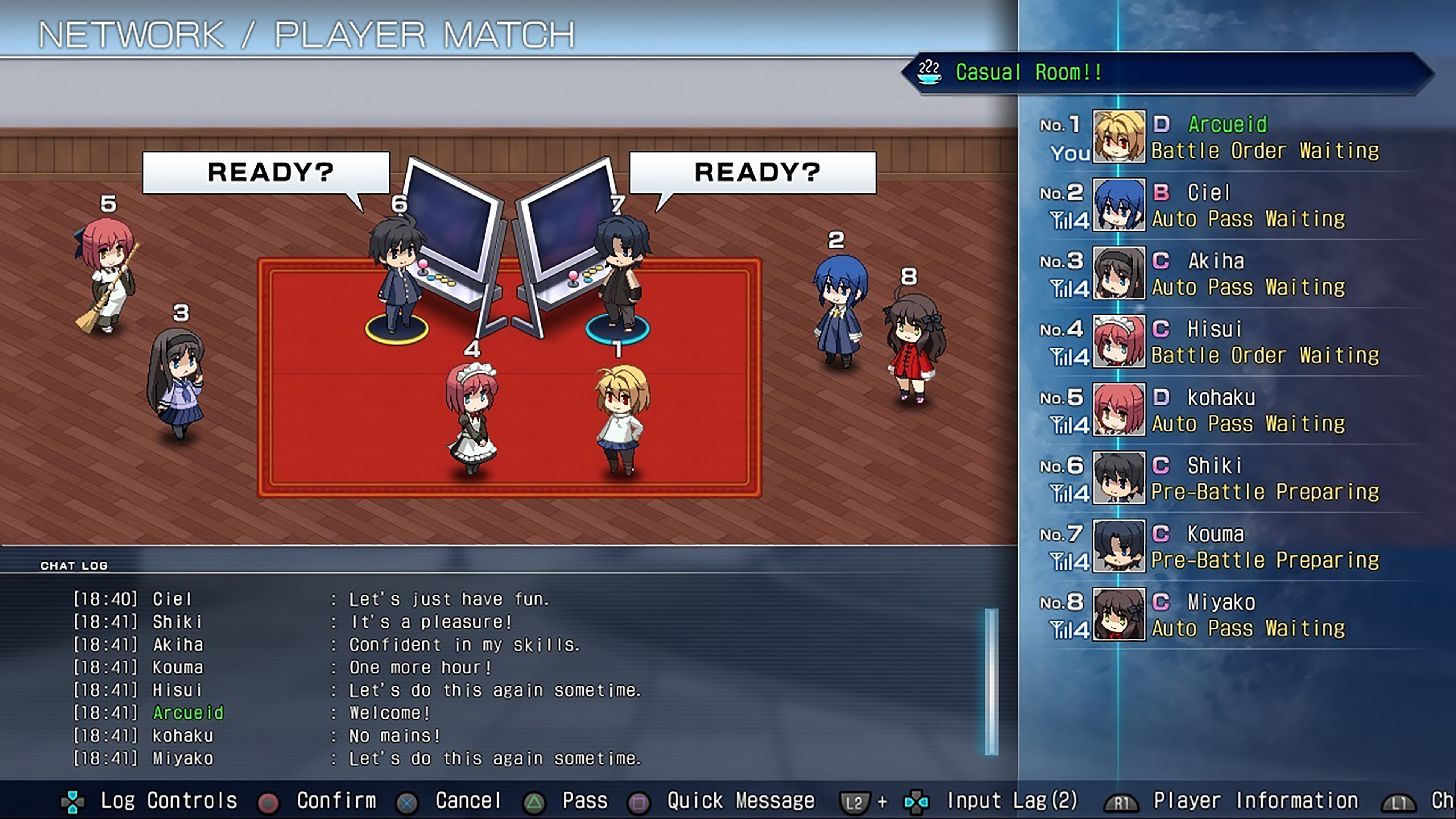 Скриншот №6 к MELTY BLOOD TYPE LUMINA