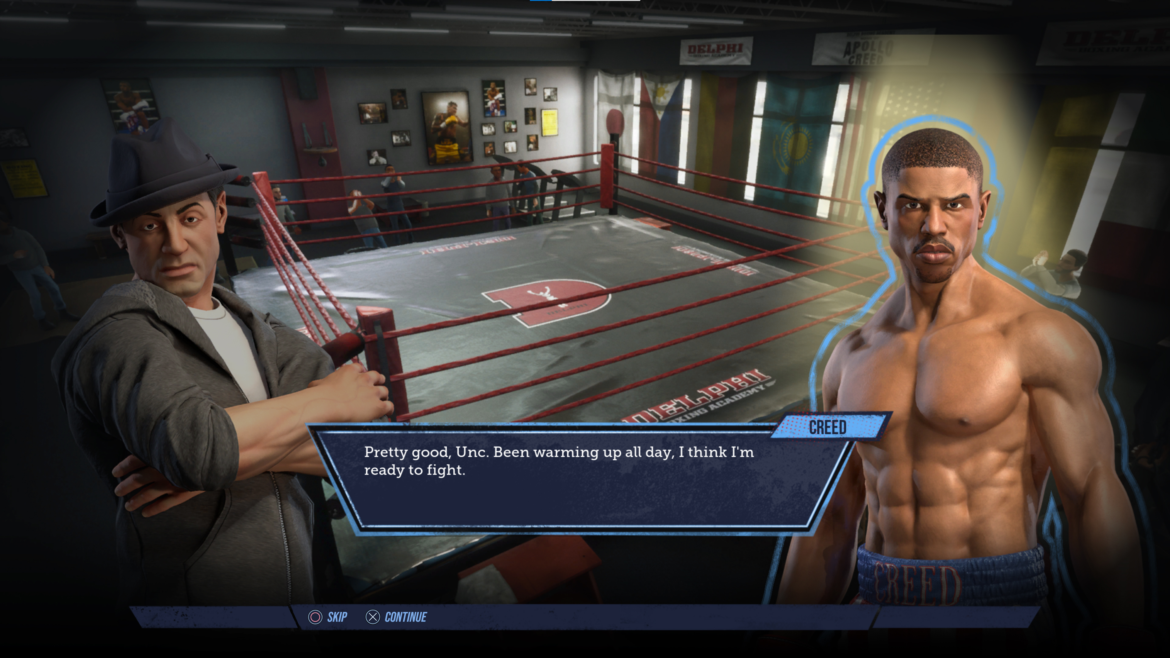 Скриншот №9 к Big Rumble Boxing Creed Champions