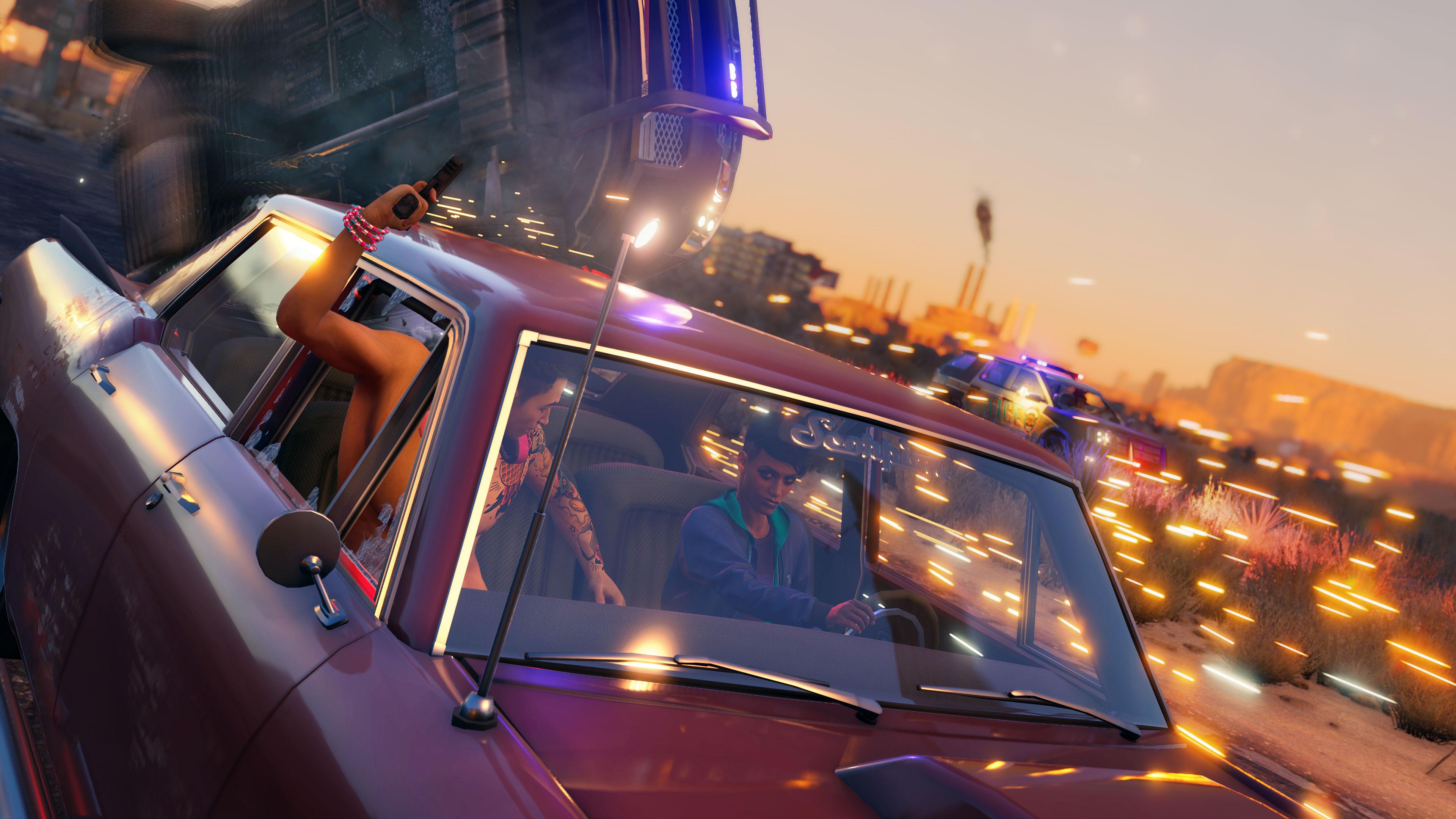 Скриншот №2 к Saints Row Platinum Edition PS4PS5
