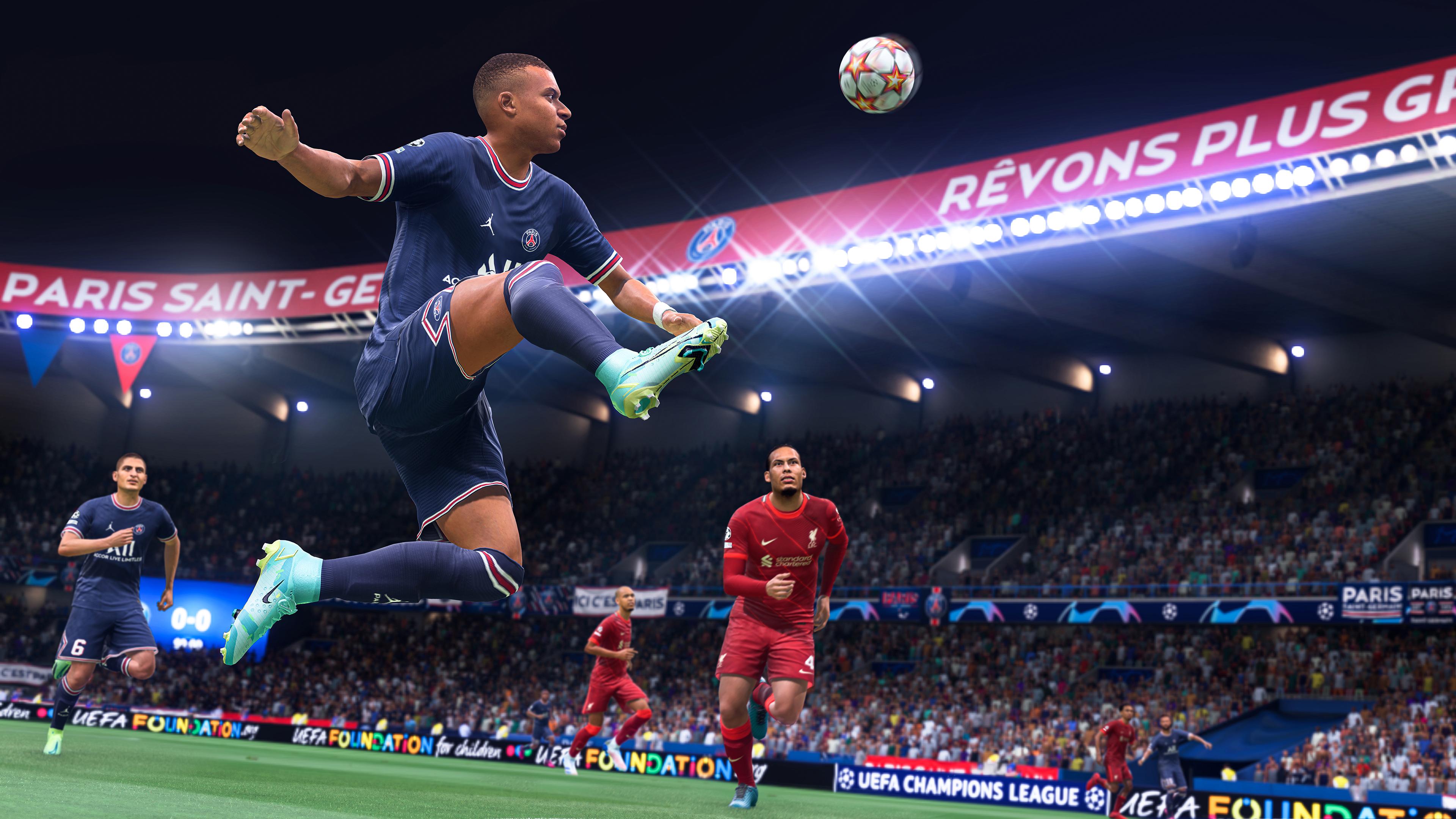 Скриншот №4 к FIFA 22 PS4