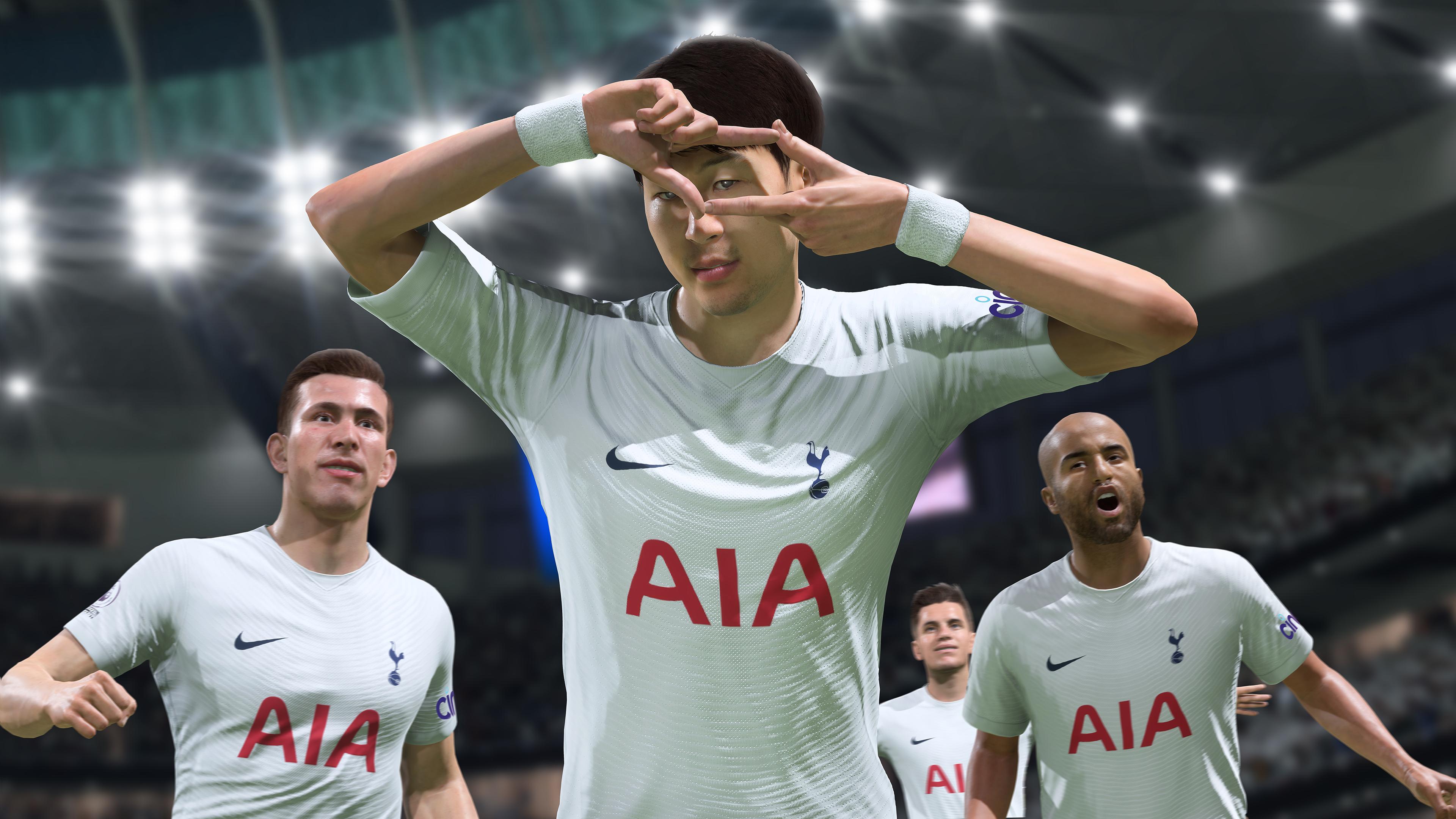Скриншот №3 к FIFA 22 PS5