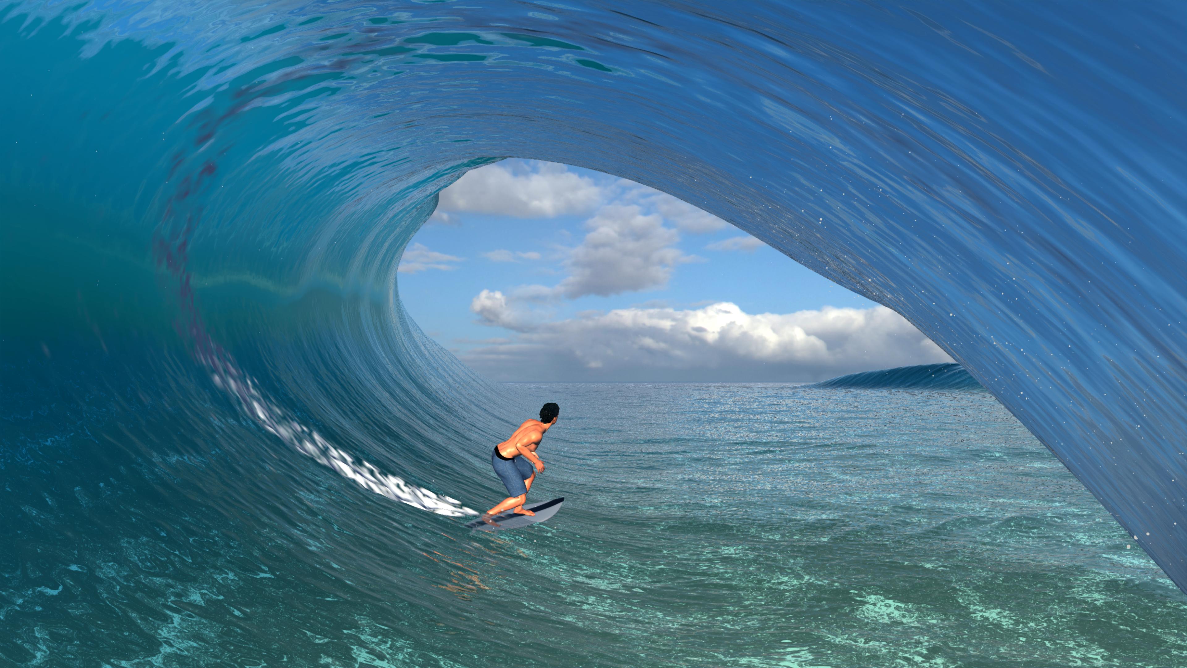 Скриншот №3 к Virtual Surfing