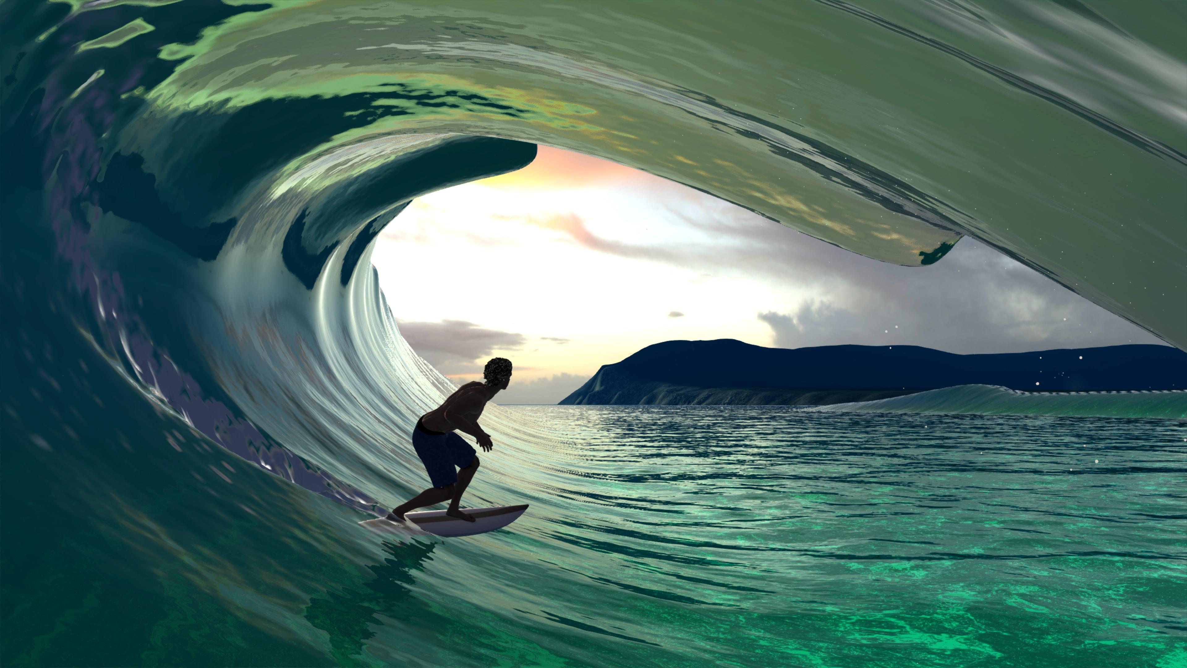 Скриншот №7 к Virtual Surfing