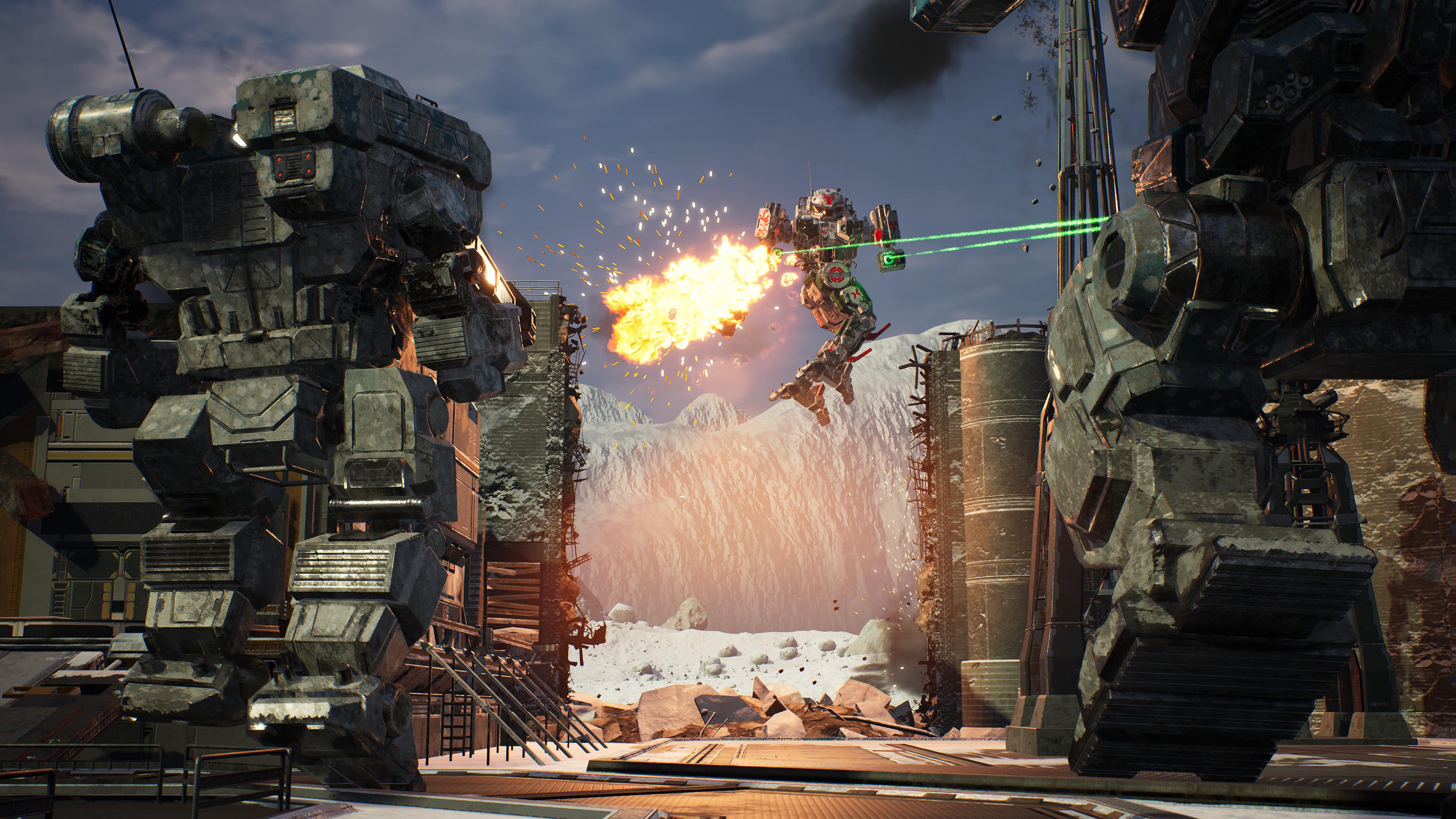 Скриншот №7 к MechWarrior 5 Mercenaries